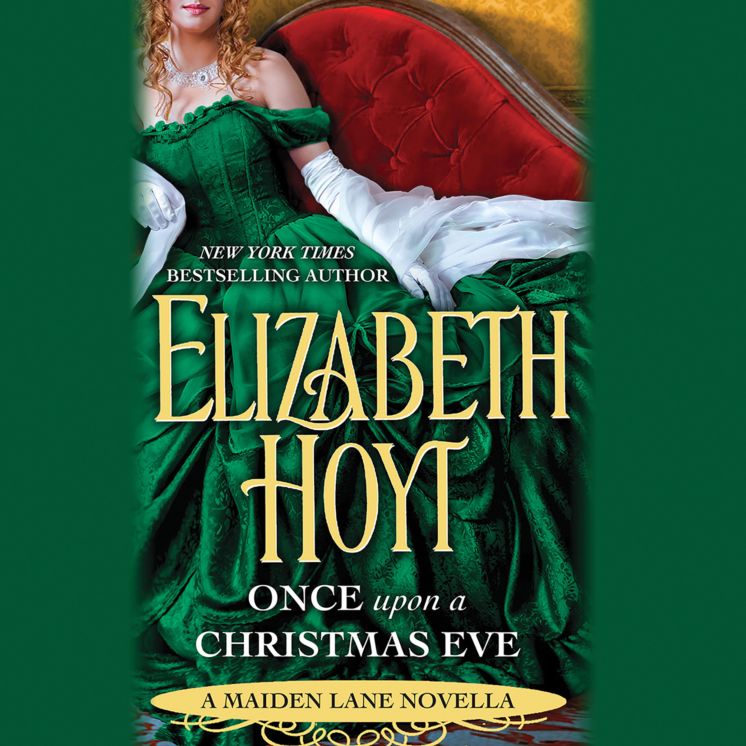 Printable Once Upon a Christmas Eve: A Maiden Lane Novella Audiobook Cover Art