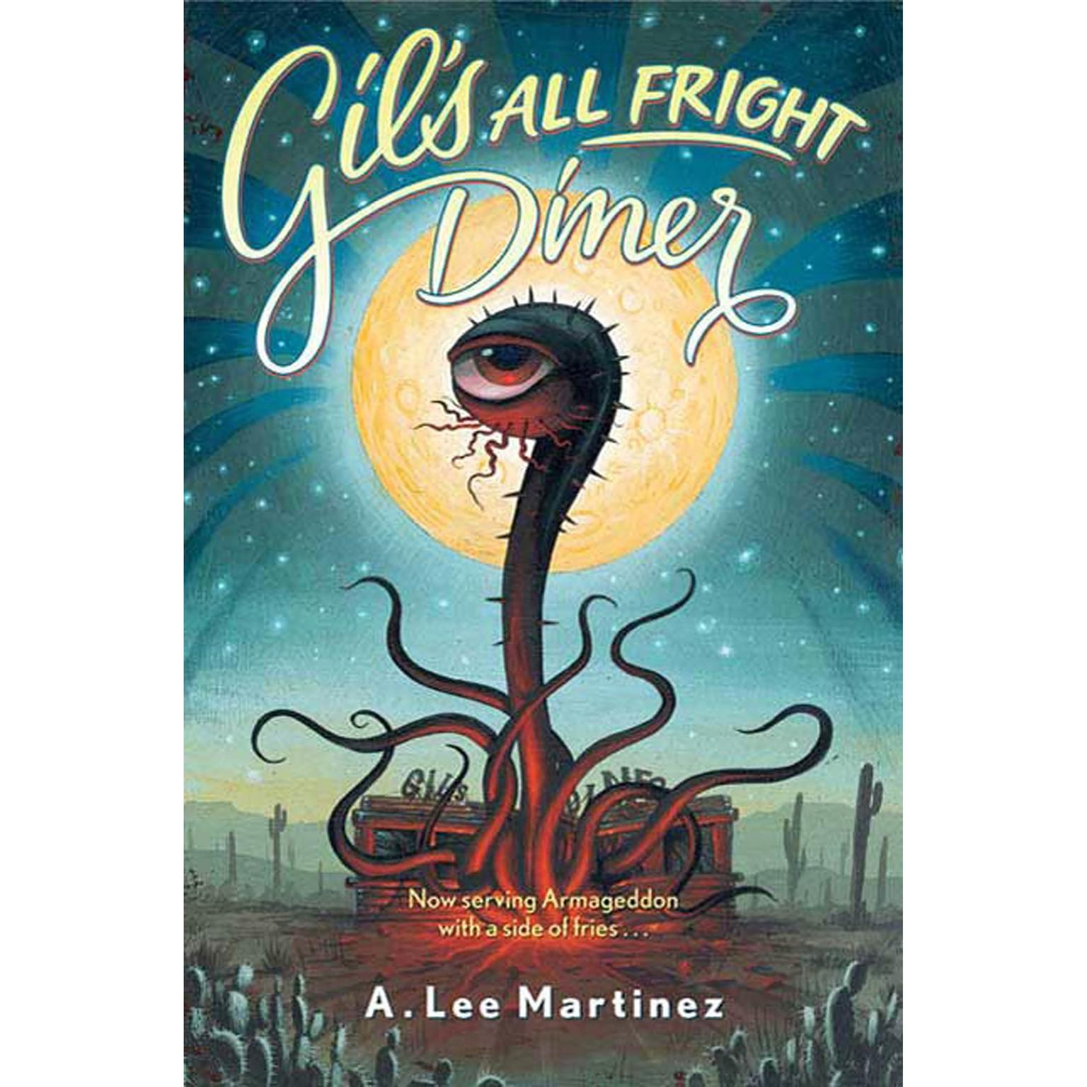 Printable Gil's All Fright Diner Audiobook Cover Art
