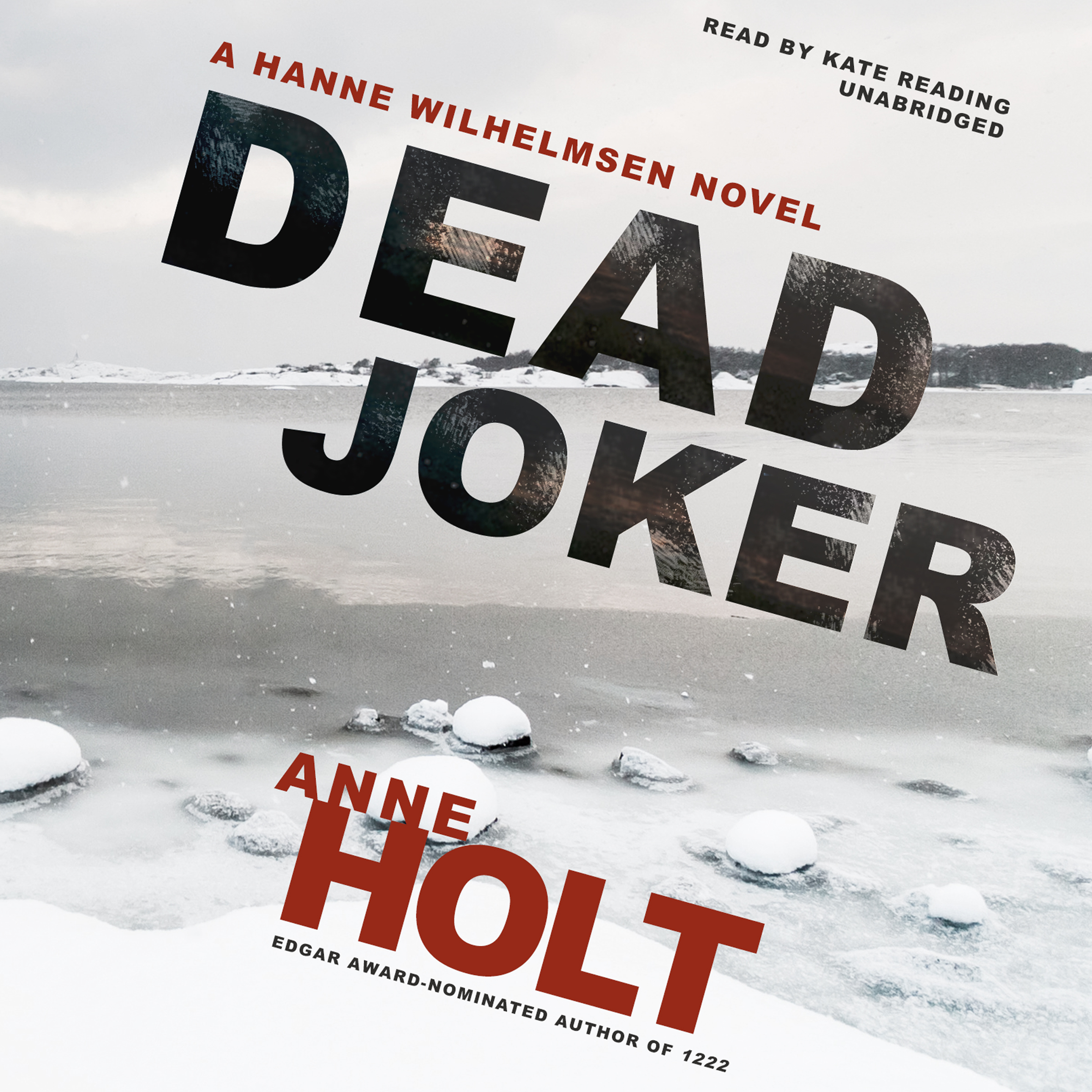 Printable Dead Joker: A Hanne Wilhelmsen Novel Audiobook Cover Art