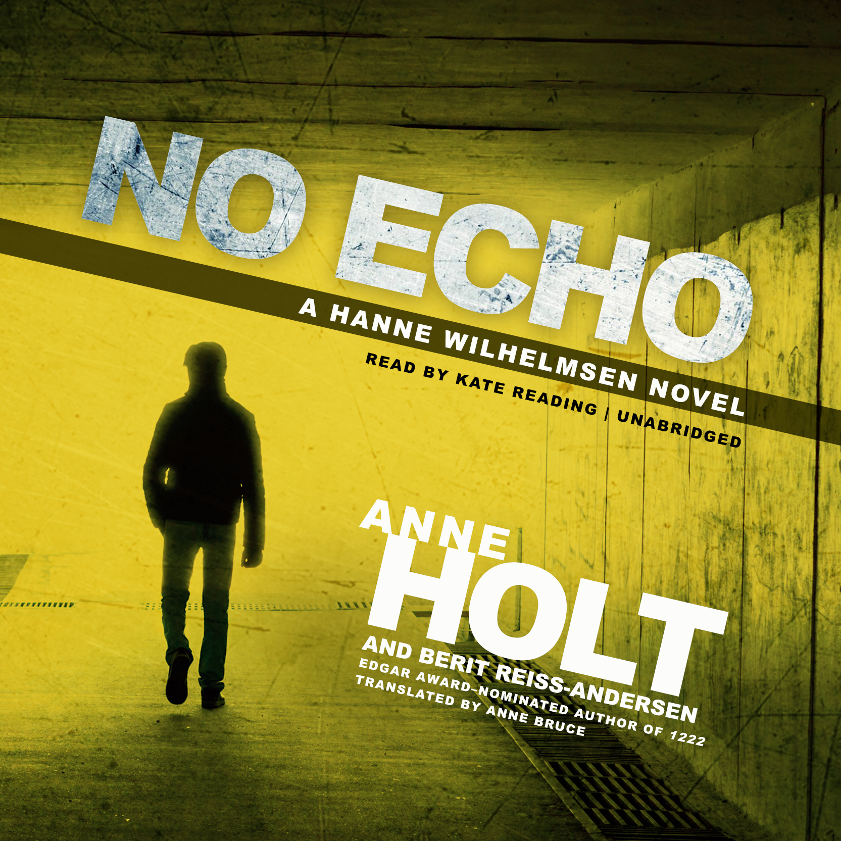 Printable No Echo: A Hanne Wilhelmsen Novel Audiobook Cover Art