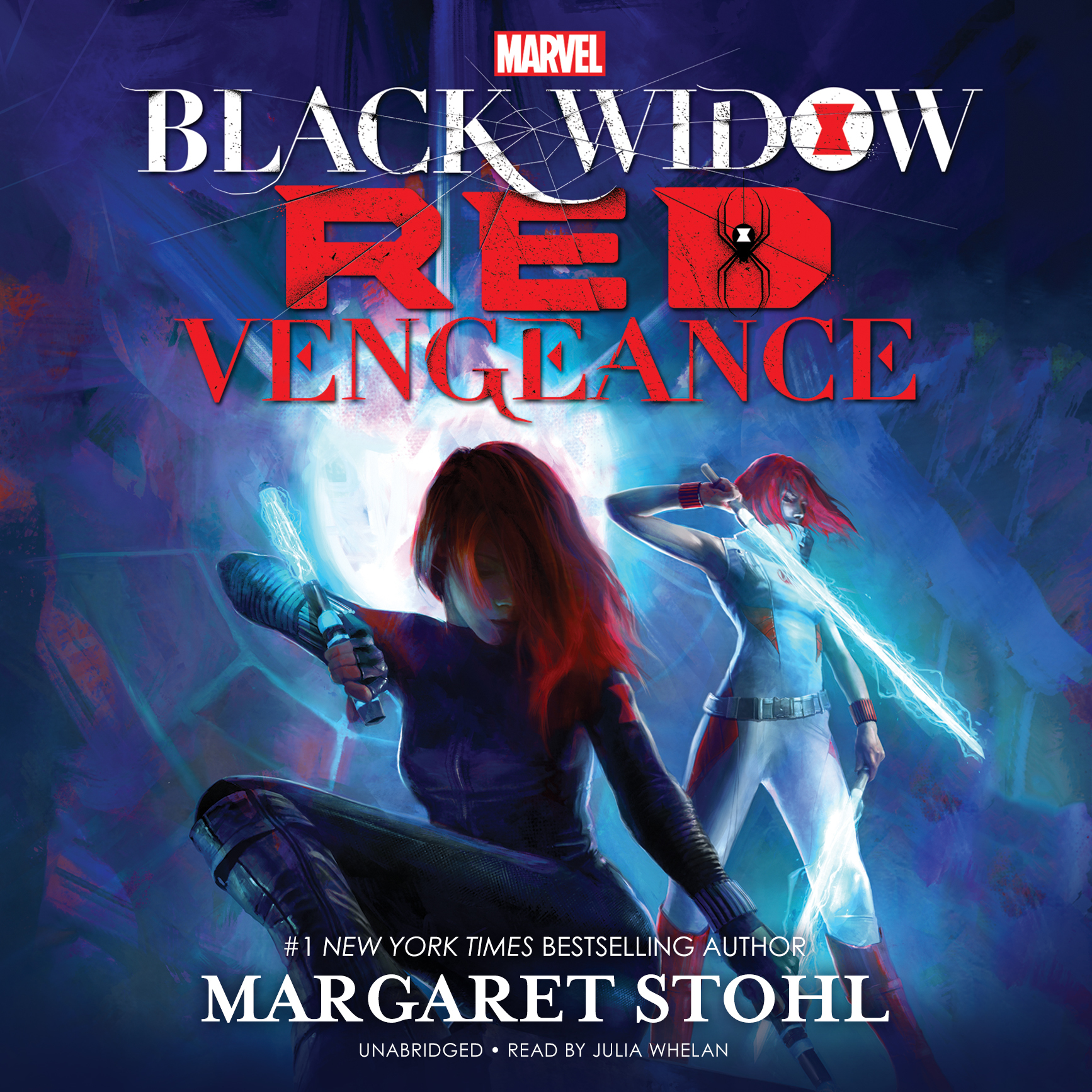 Printable Marvel's Black Widow: Red Vengeance Audiobook Cover Art
