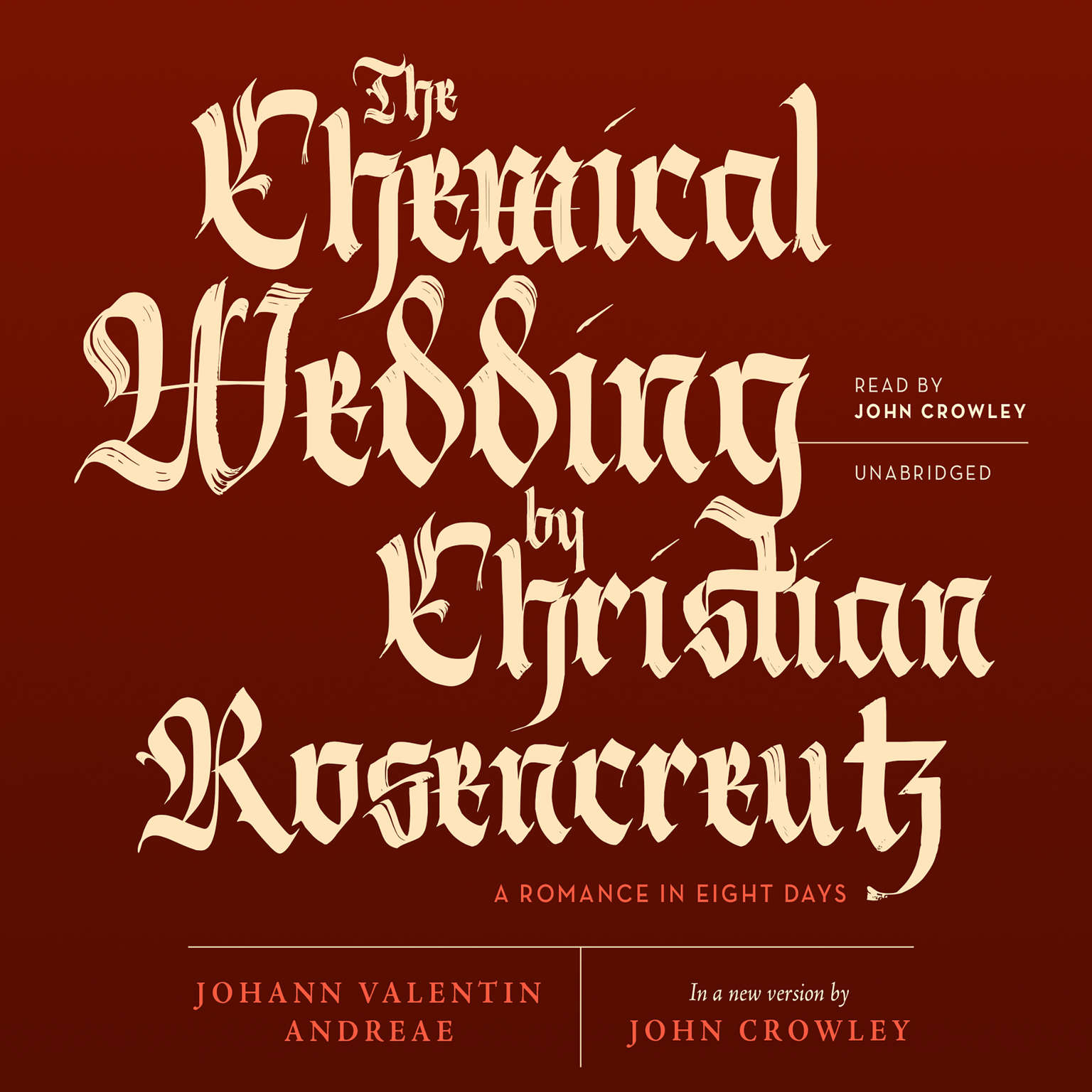 Printable The Chemical Wedding by Christian Rosencreutz: A Romance in Eight Days Audiobook Cover Art