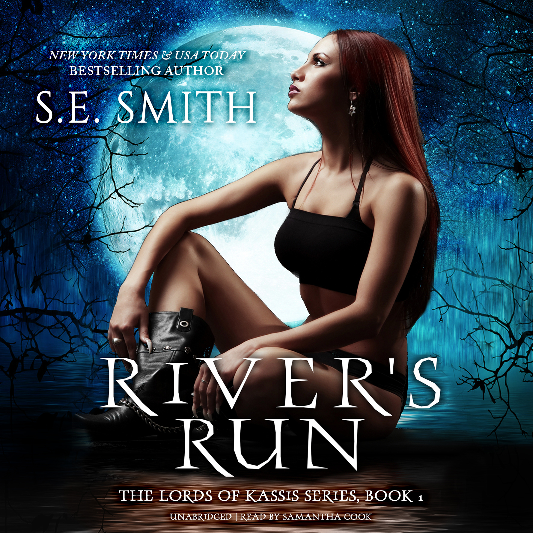 Printable River's Run Audiobook Cover Art