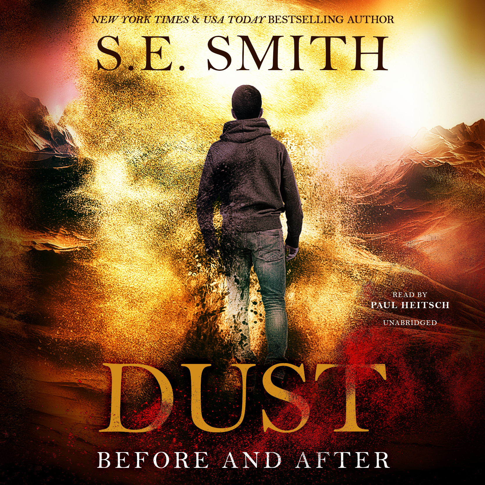 Printable Dust: Before and After Audiobook Cover Art