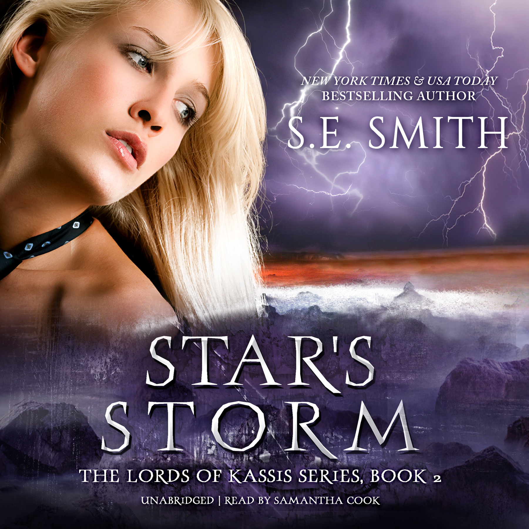 Printable Star's Storm Audiobook Cover Art