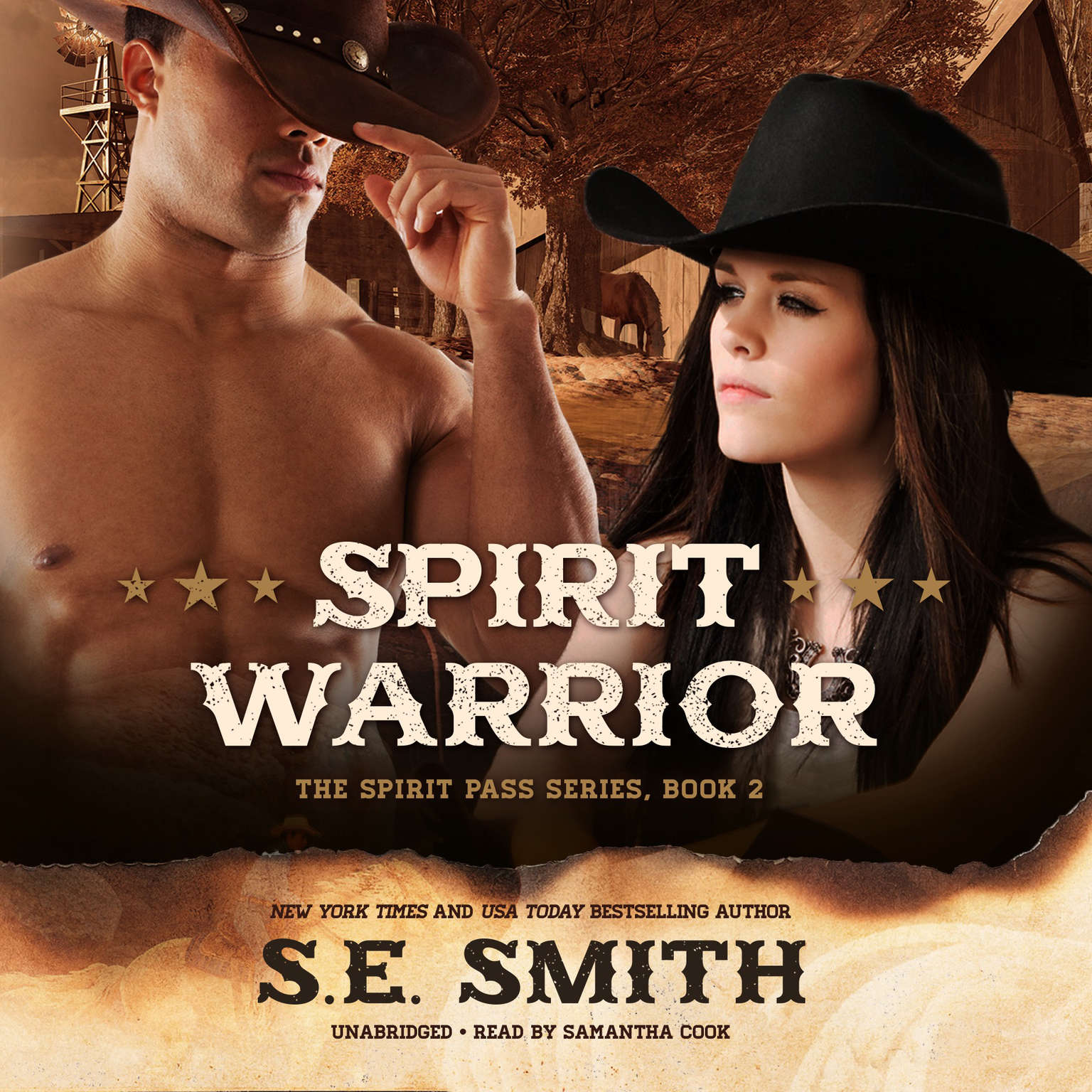 Printable Spirit Warrior Audiobook Cover Art