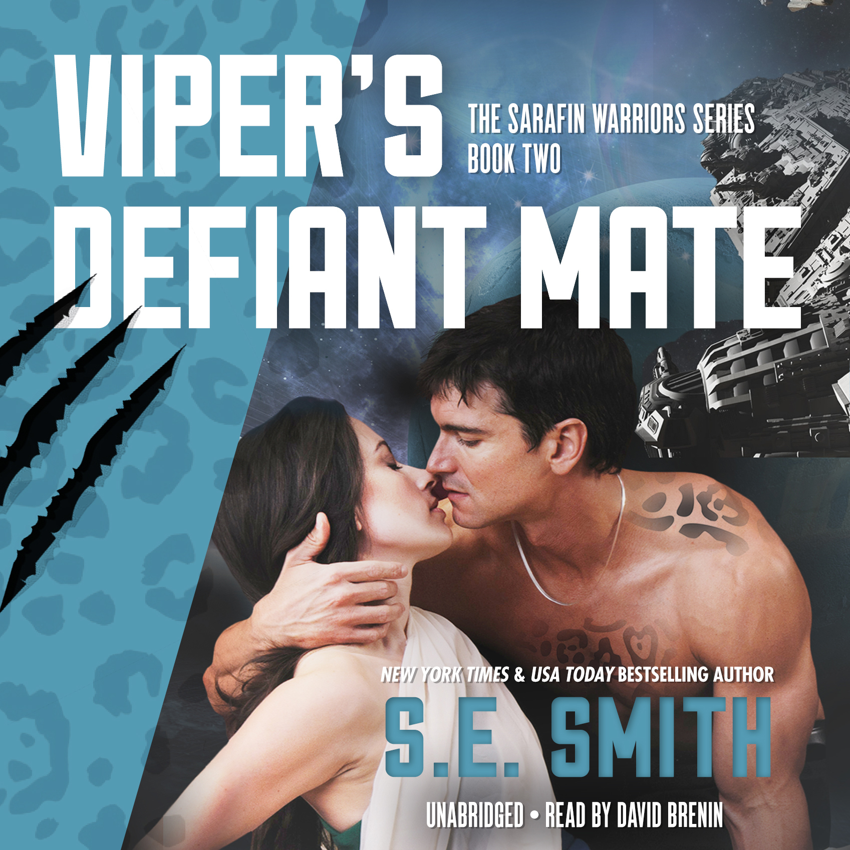 Printable Viper's Defiant Mate: Sarafin Warriors, Book 2 Audiobook Cover Art