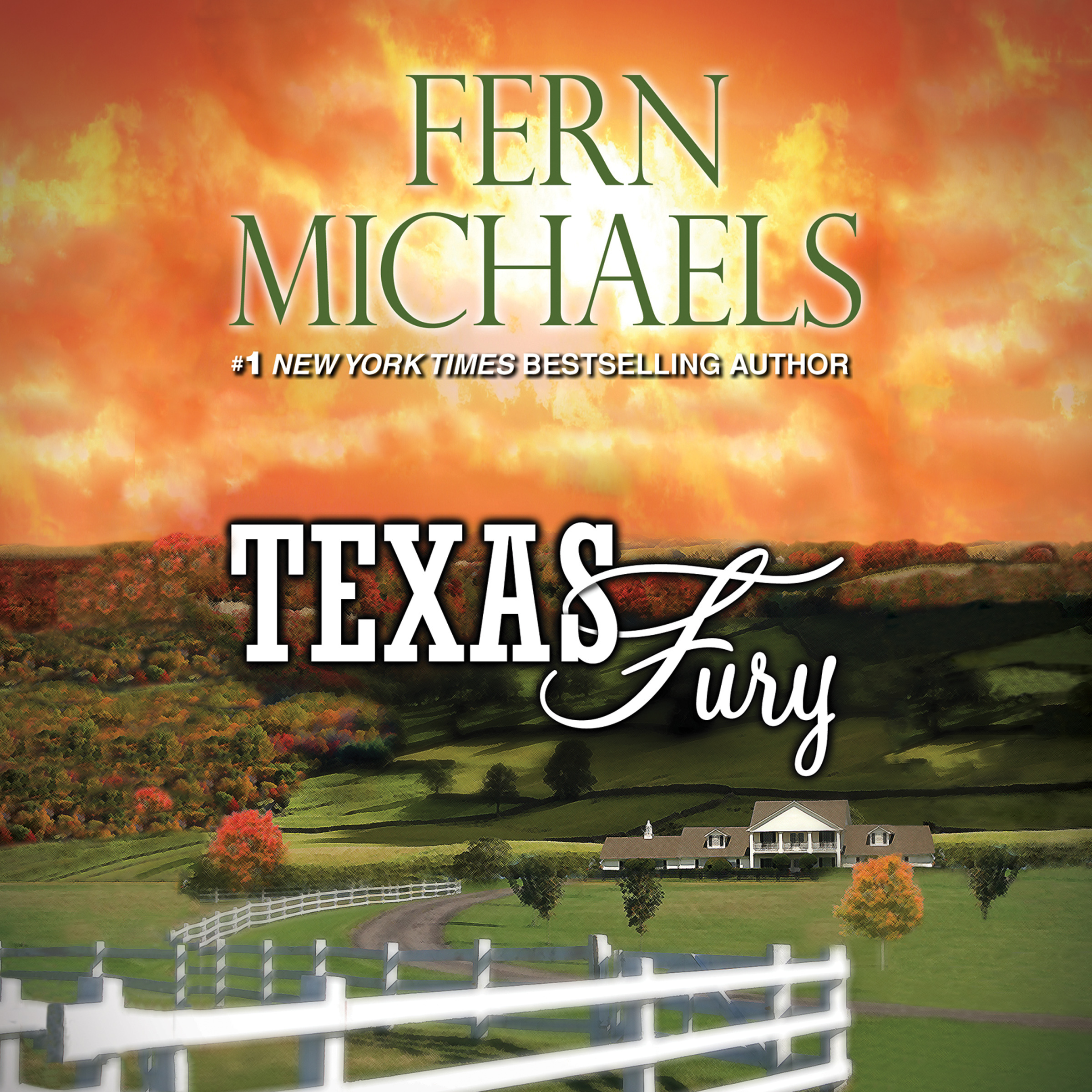 Printable Texas Fury Audiobook Cover Art