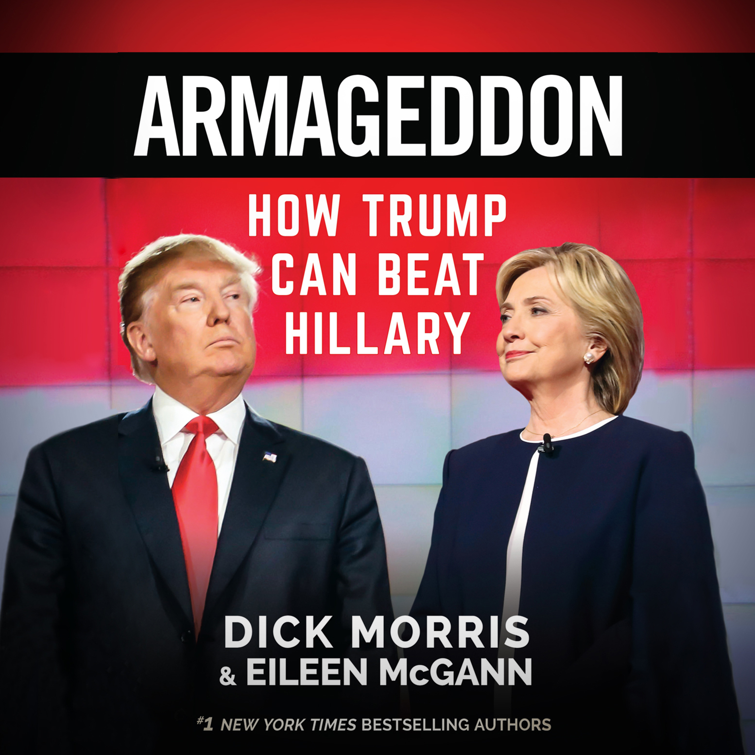 Printable Armageddon: How Trump Can Beat Hillary Audiobook Cover Art