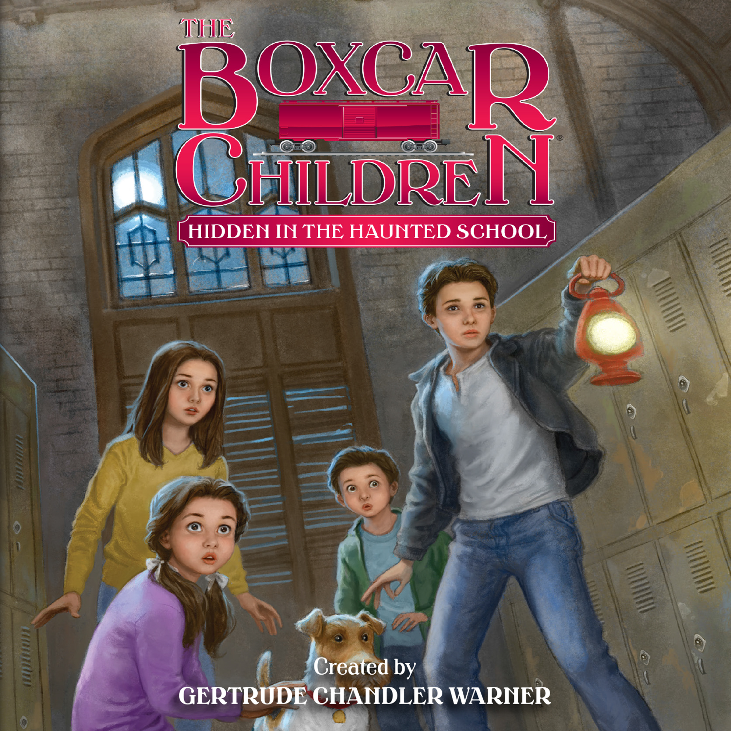 Printable Hidden in the Haunted School Audiobook Cover Art