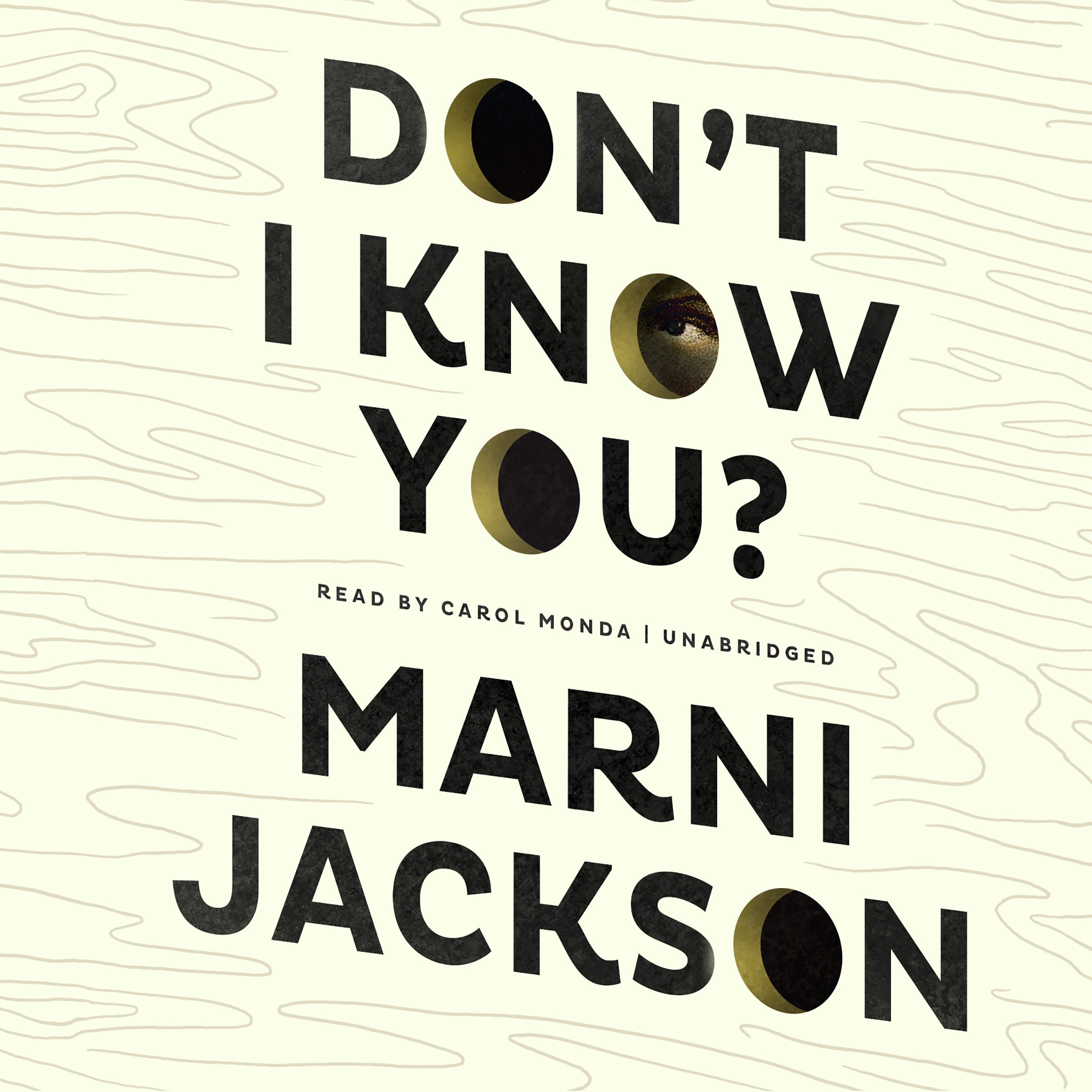 Printable Don't I Know You? Audiobook Cover Art
