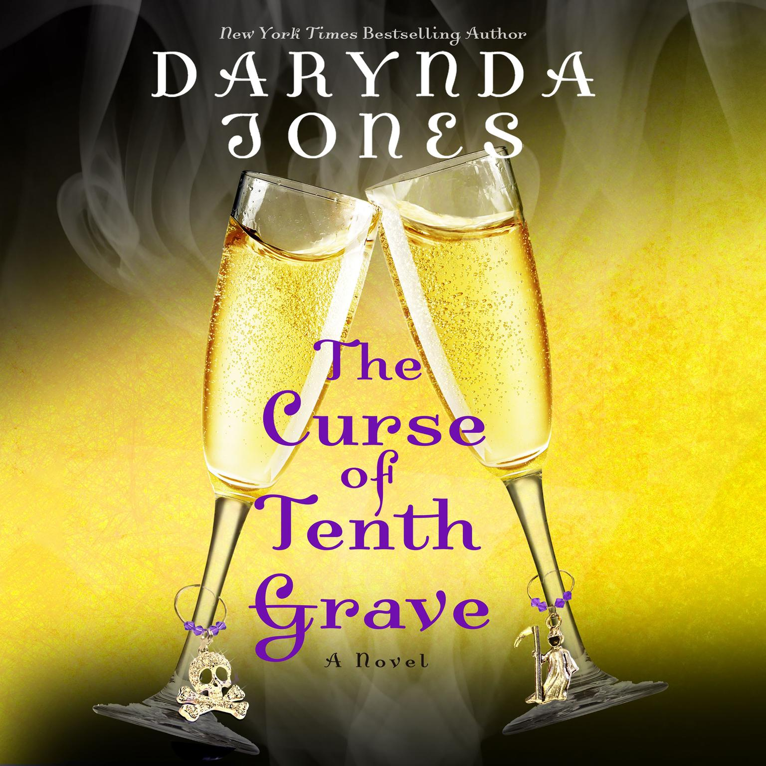Printable The Curse of Tenth Grave: A Novel Audiobook Cover Art
