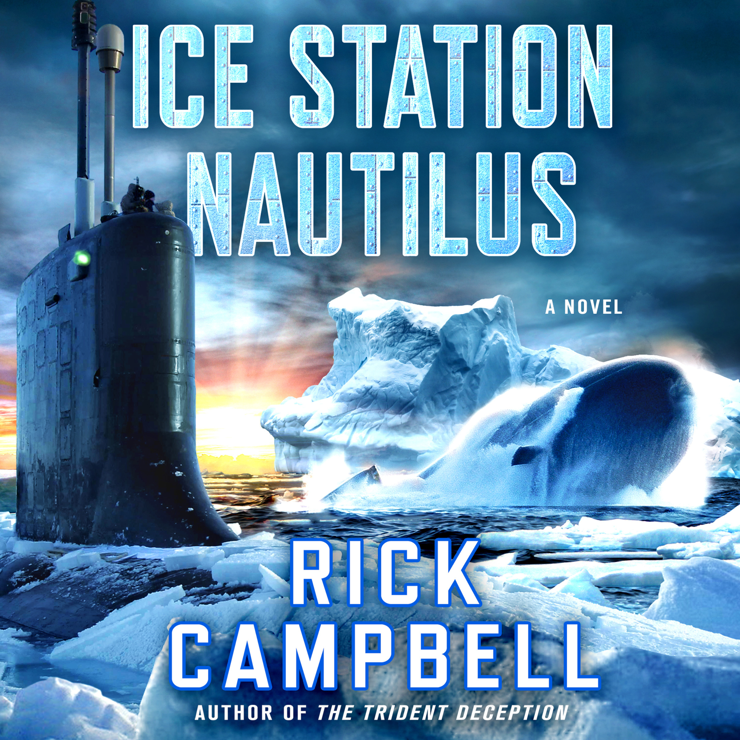 Printable Ice Station Nautilus: A Novel Audiobook Cover Art