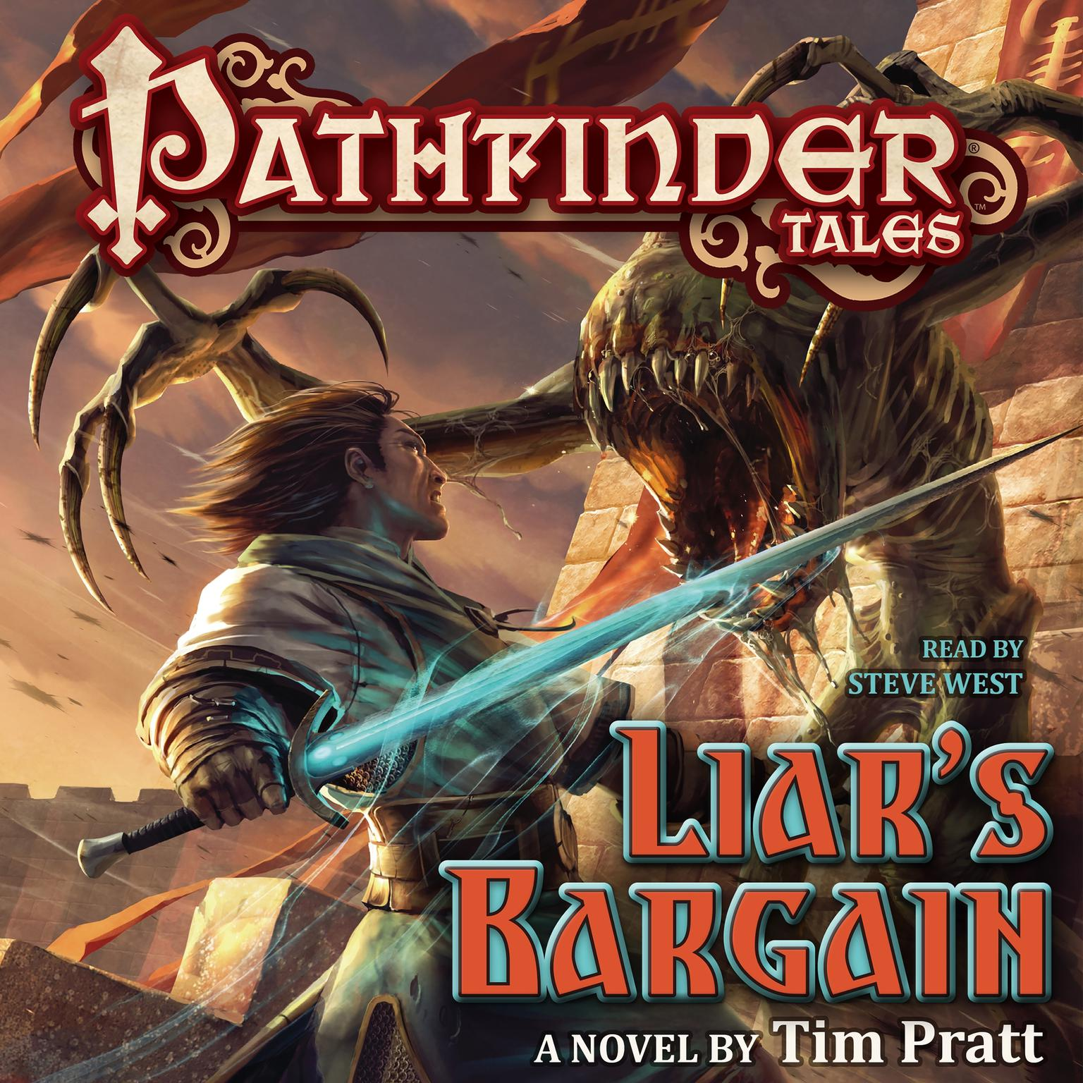 Printable Pathfinder Tales: Liar's Bargain: A Novel Audiobook Cover Art