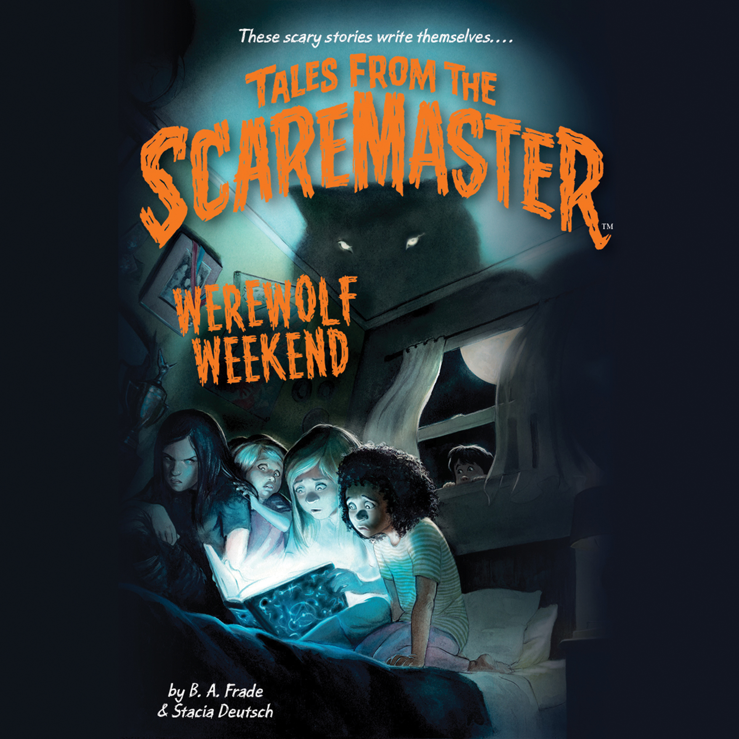 Printable Werewolf Weekend Audiobook Cover Art