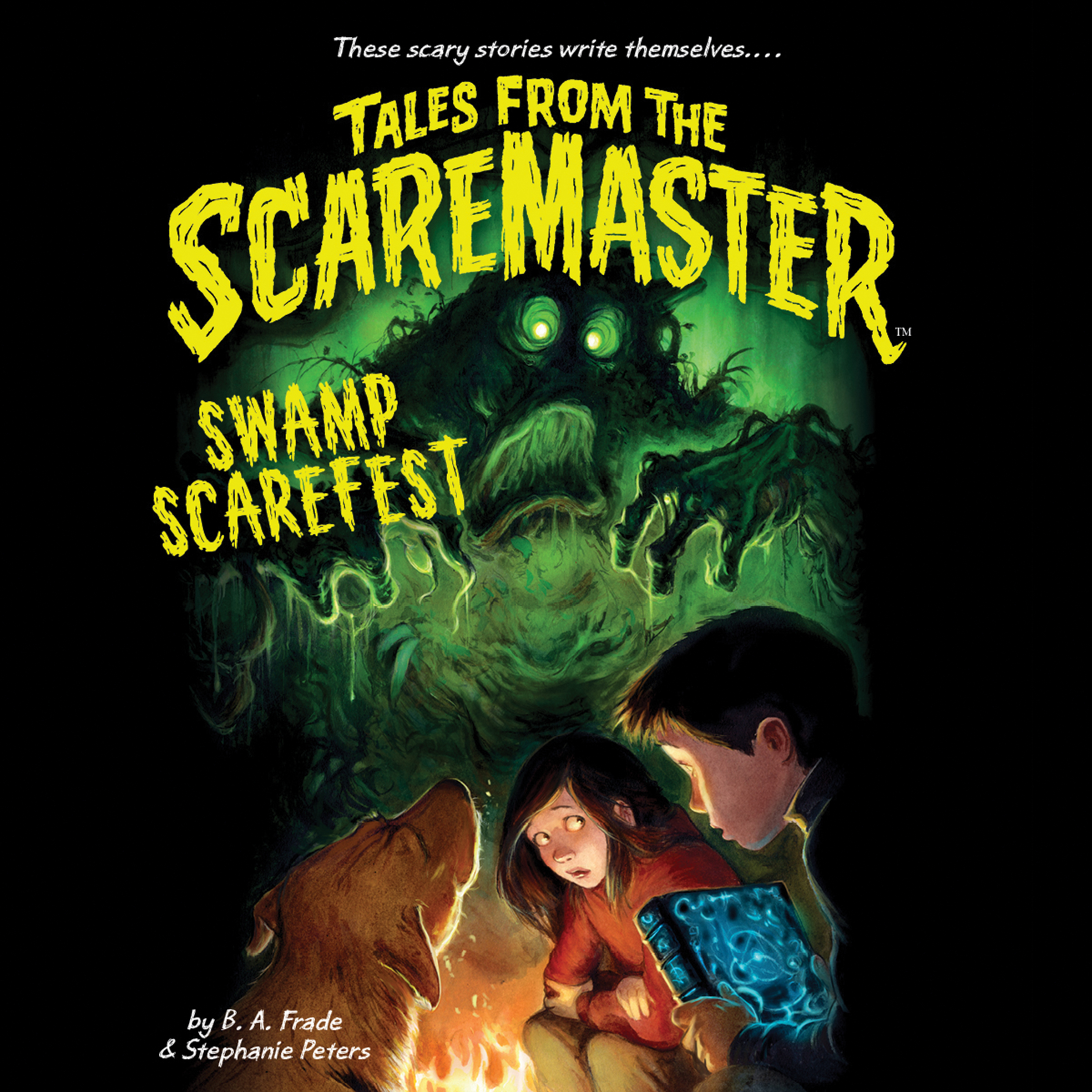 Printable Swamp Scarefest Audiobook Cover Art