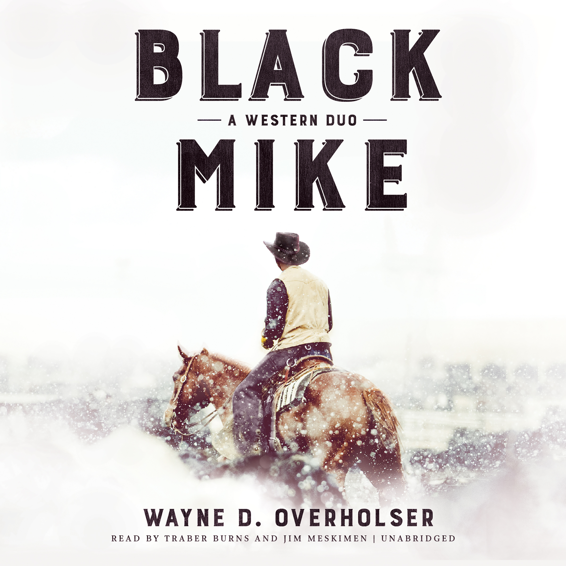 Printable Black Mike: A Western Duo Audiobook Cover Art