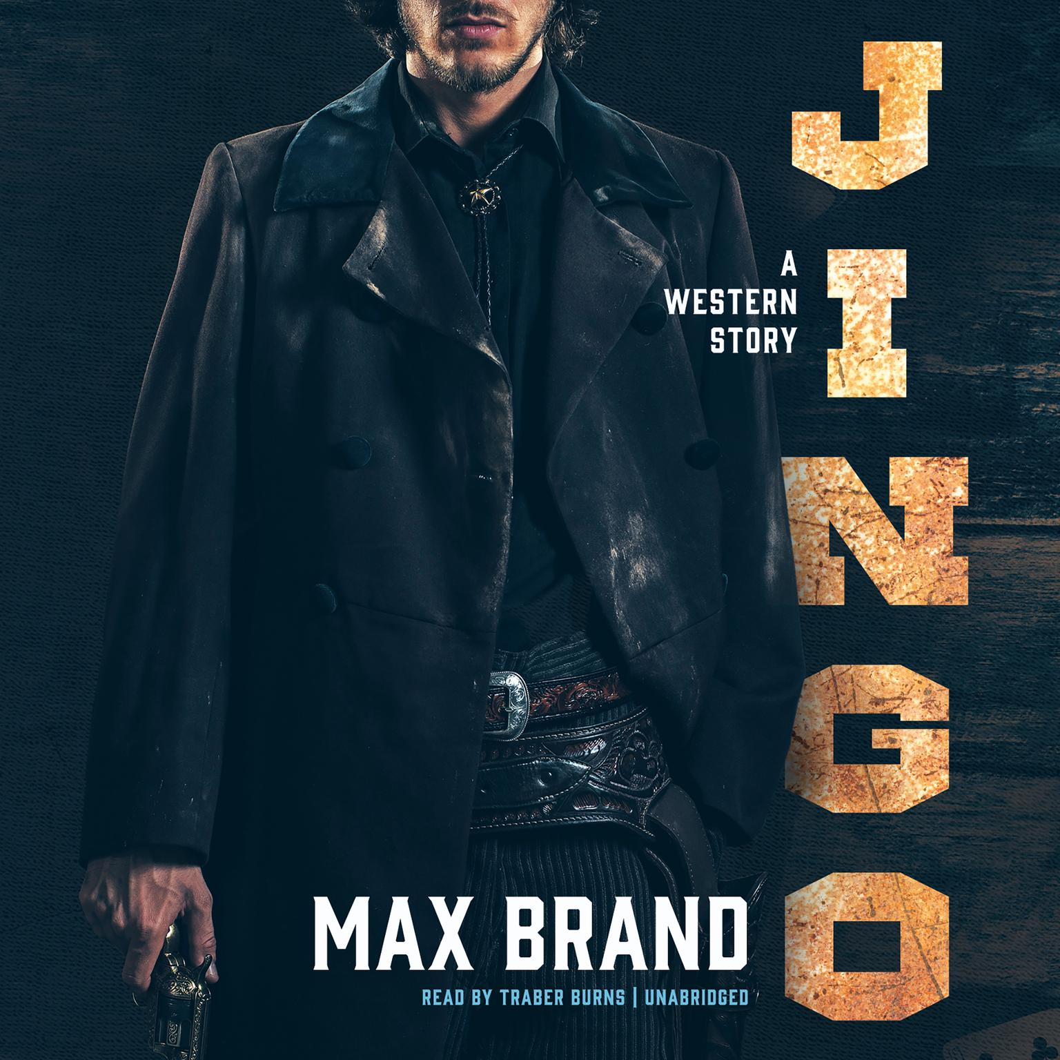 Printable Jingo: A Western Story Audiobook Cover Art