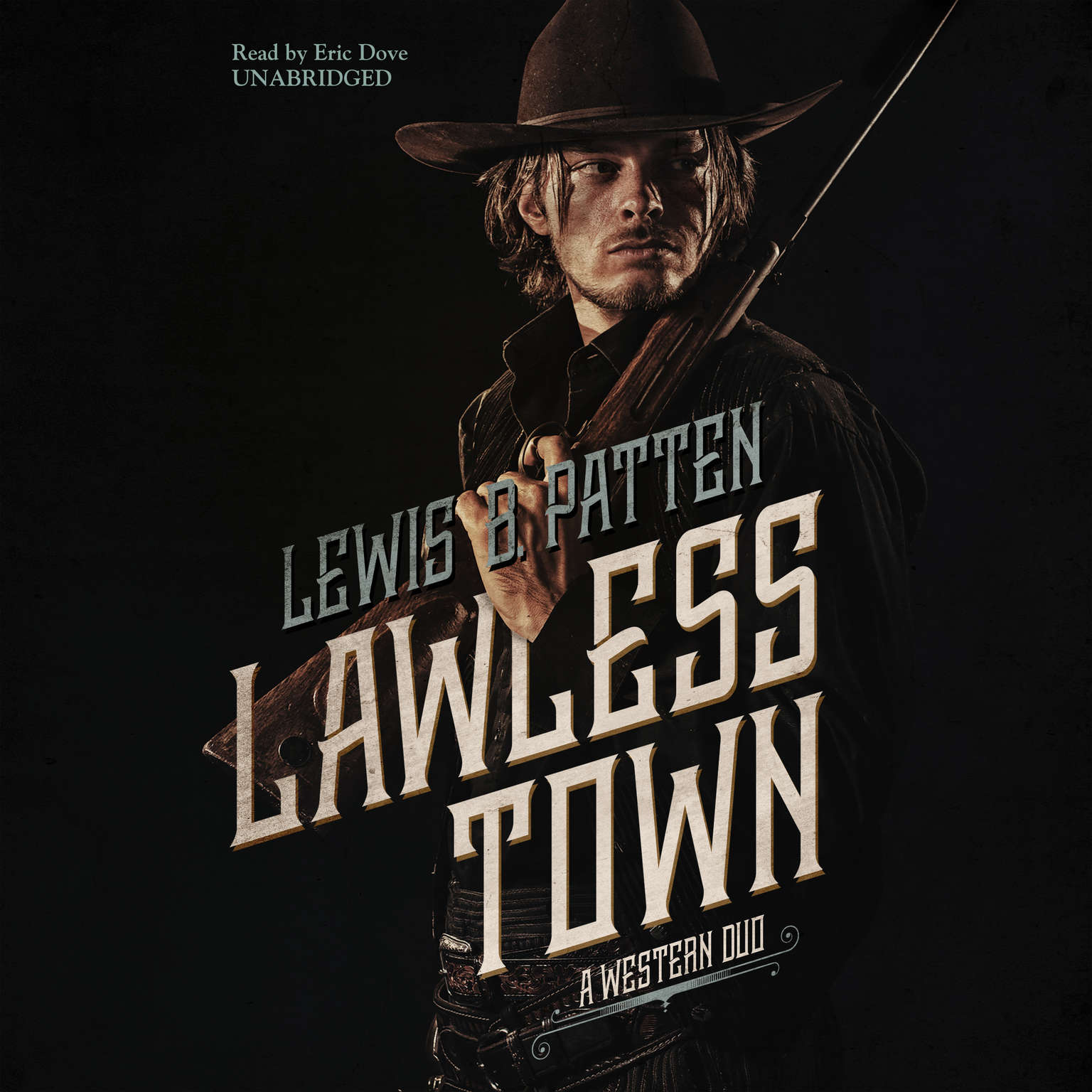 Printable Lawless Town: A Western Duo Audiobook Cover Art