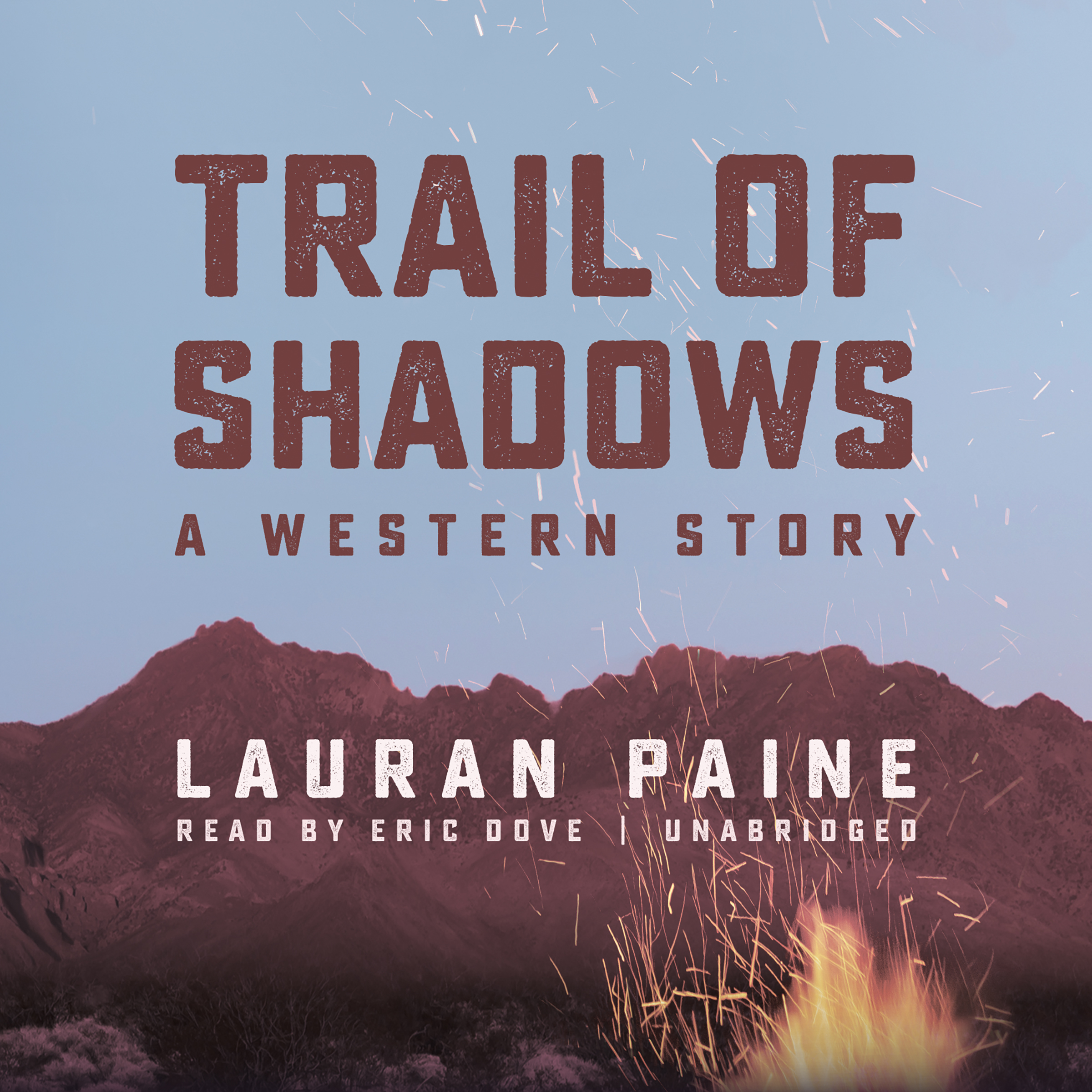 Printable Trail of Shadows: A Western Story Audiobook Cover Art