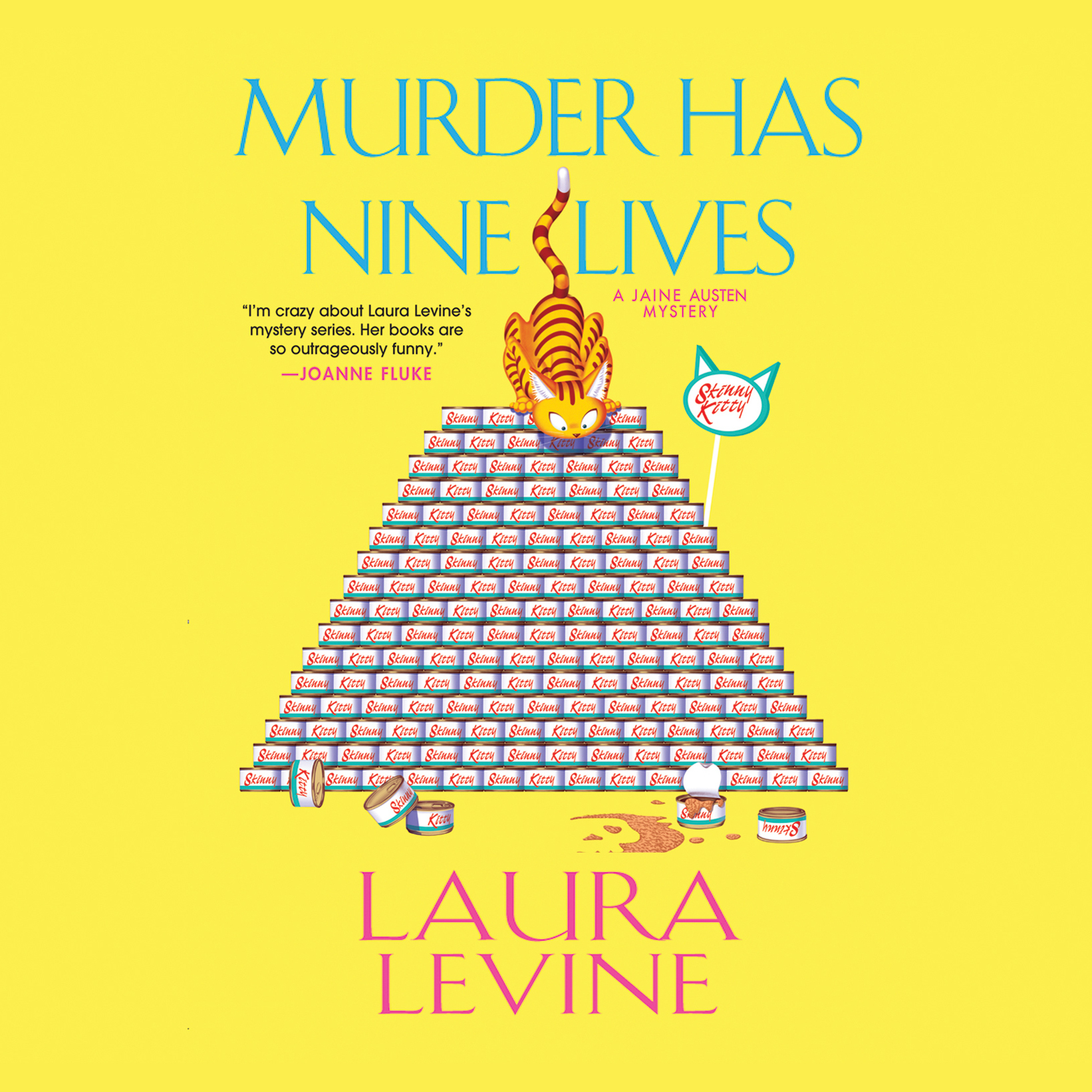 Printable Murder Has Nine Lives Audiobook Cover Art