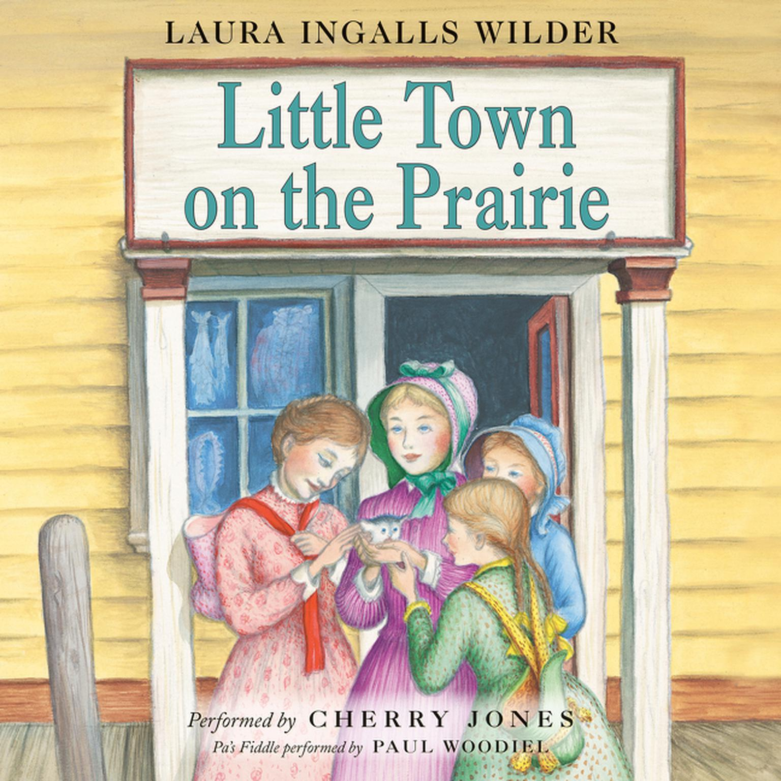 Printable Little Town on the Prairie Audiobook Cover Art