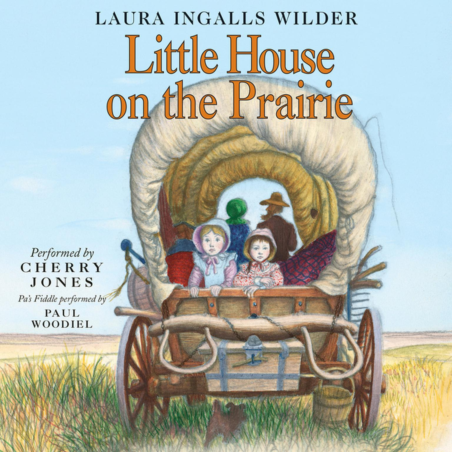 Printable Little House on the Prairie Audiobook Cover Art