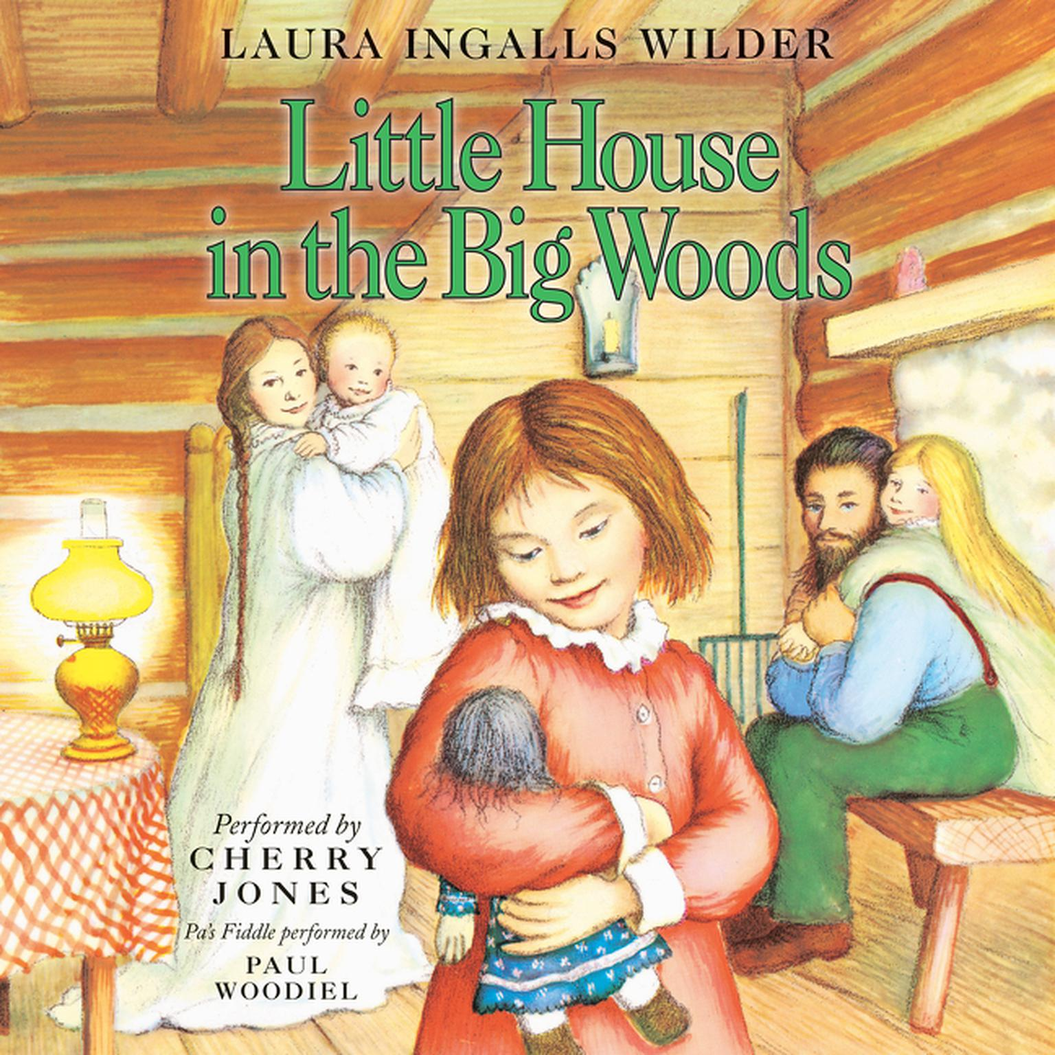 Printable Little House in the Big Woods Audiobook Cover Art