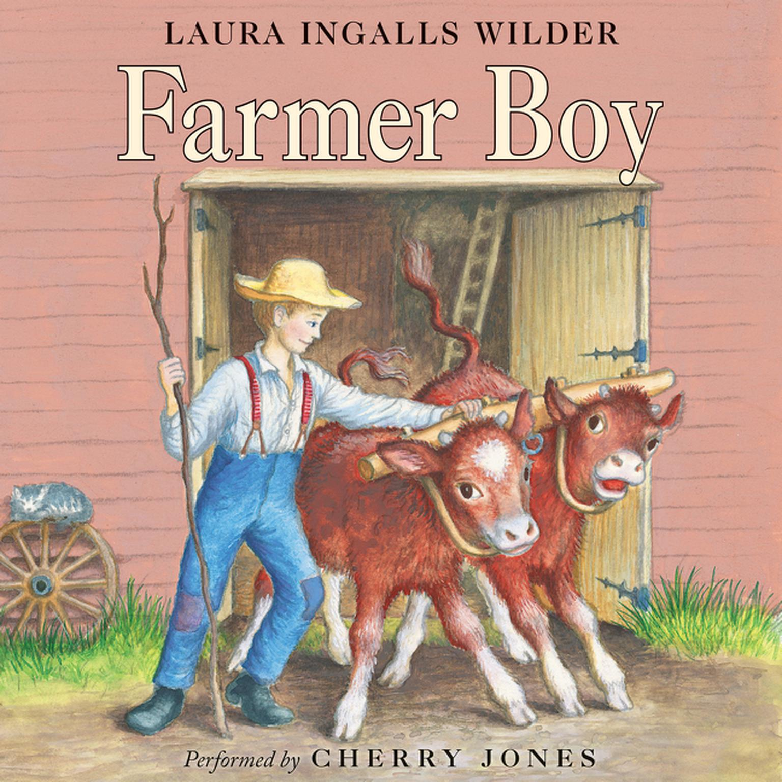 Printable Farmer Boy Audiobook Cover Art