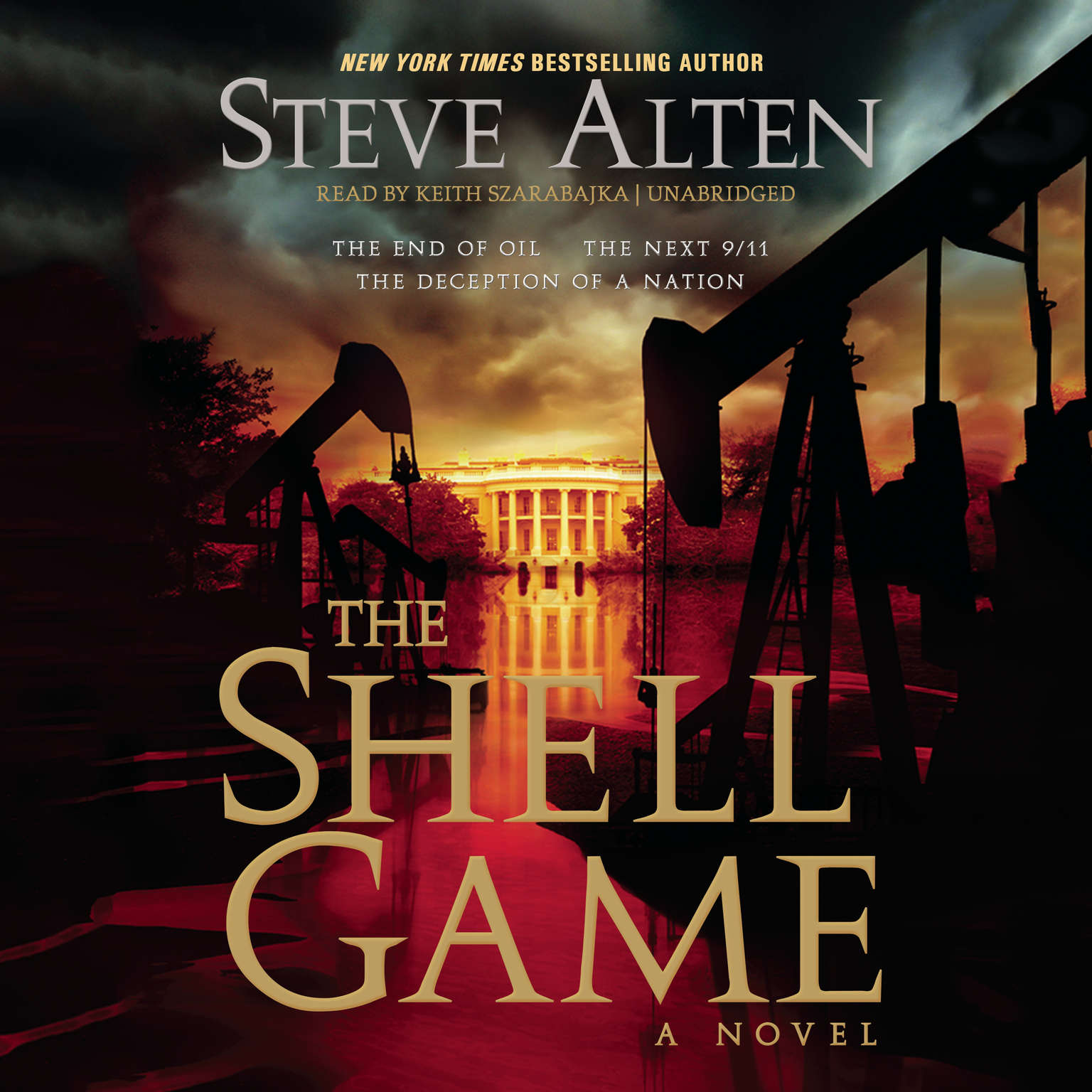 Printable The Shell Game Audiobook Cover Art