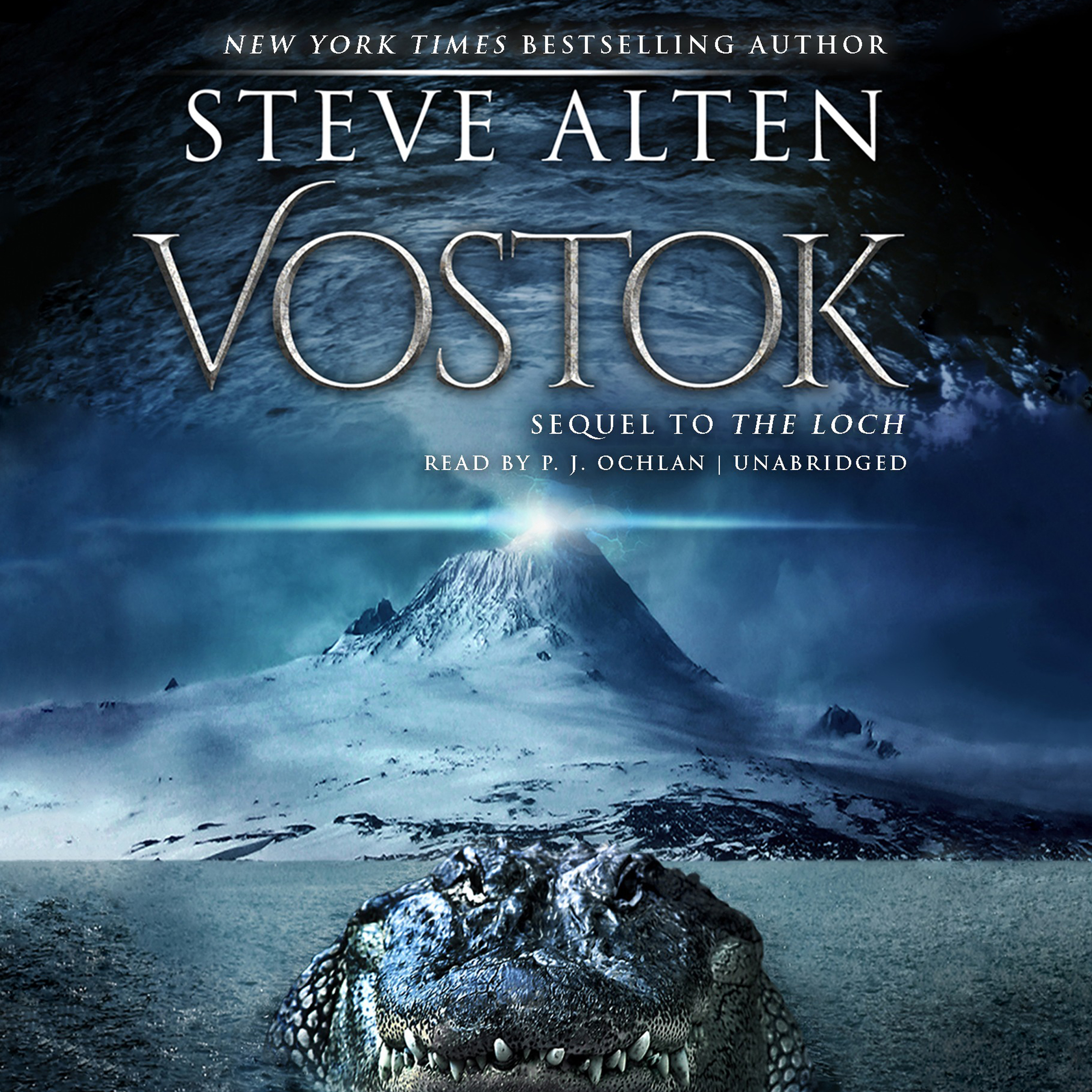 Printable Vostok Audiobook Cover Art