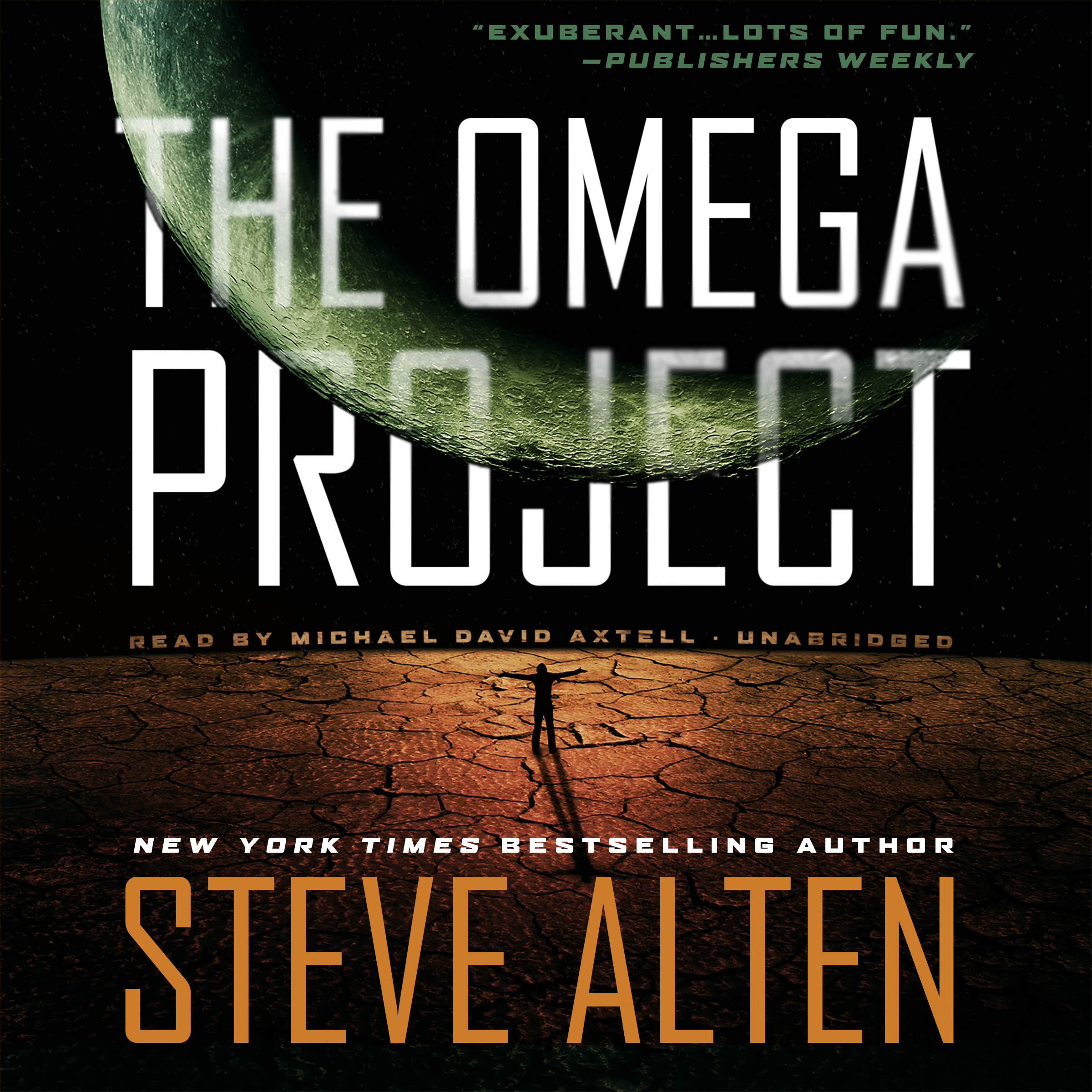 Printable The Omega Project Audiobook Cover Art