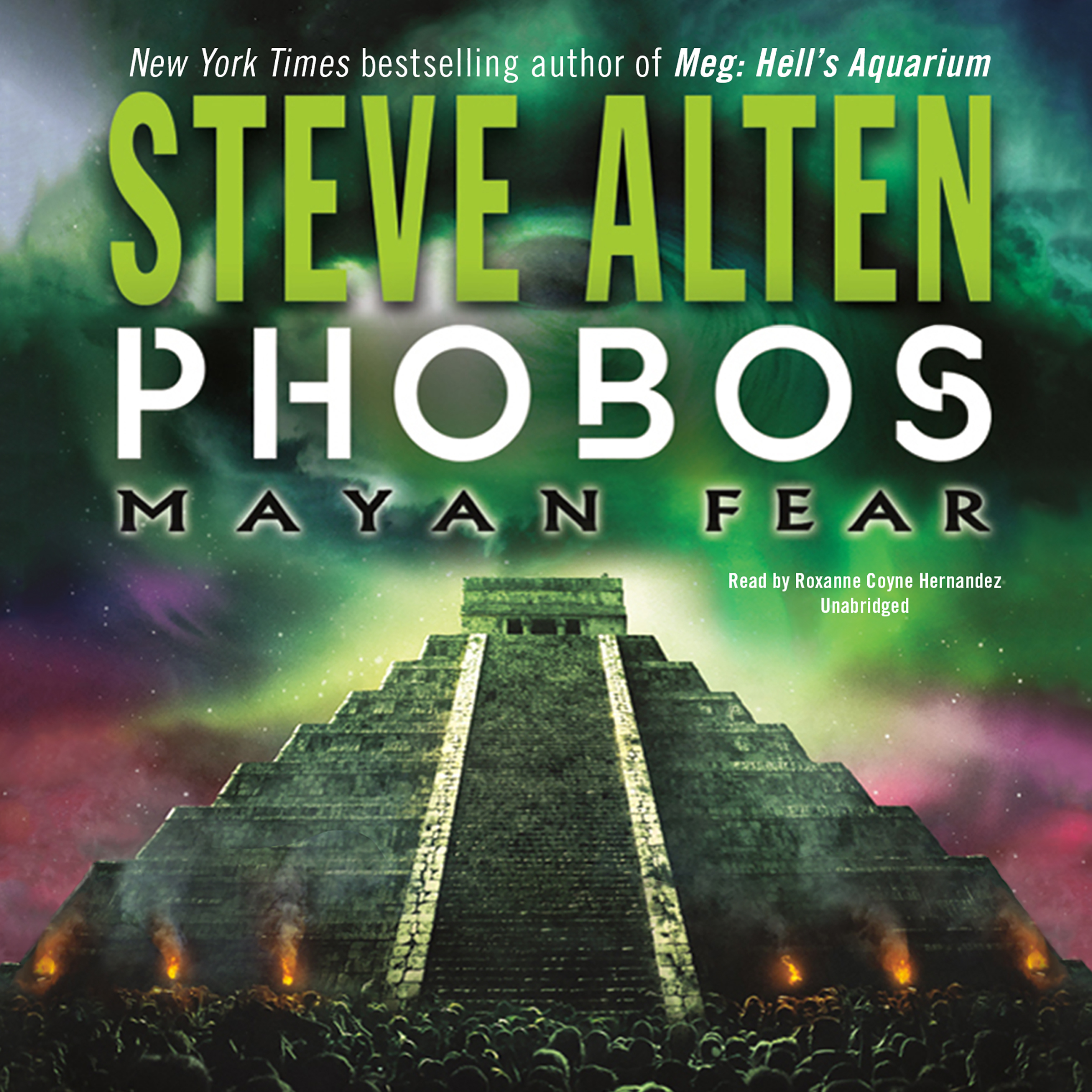 Printable Phobos: Mayan Fear Audiobook Cover Art