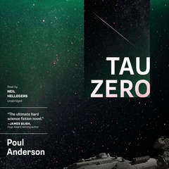 Tau Zero Audiobook, by Poul Anderson