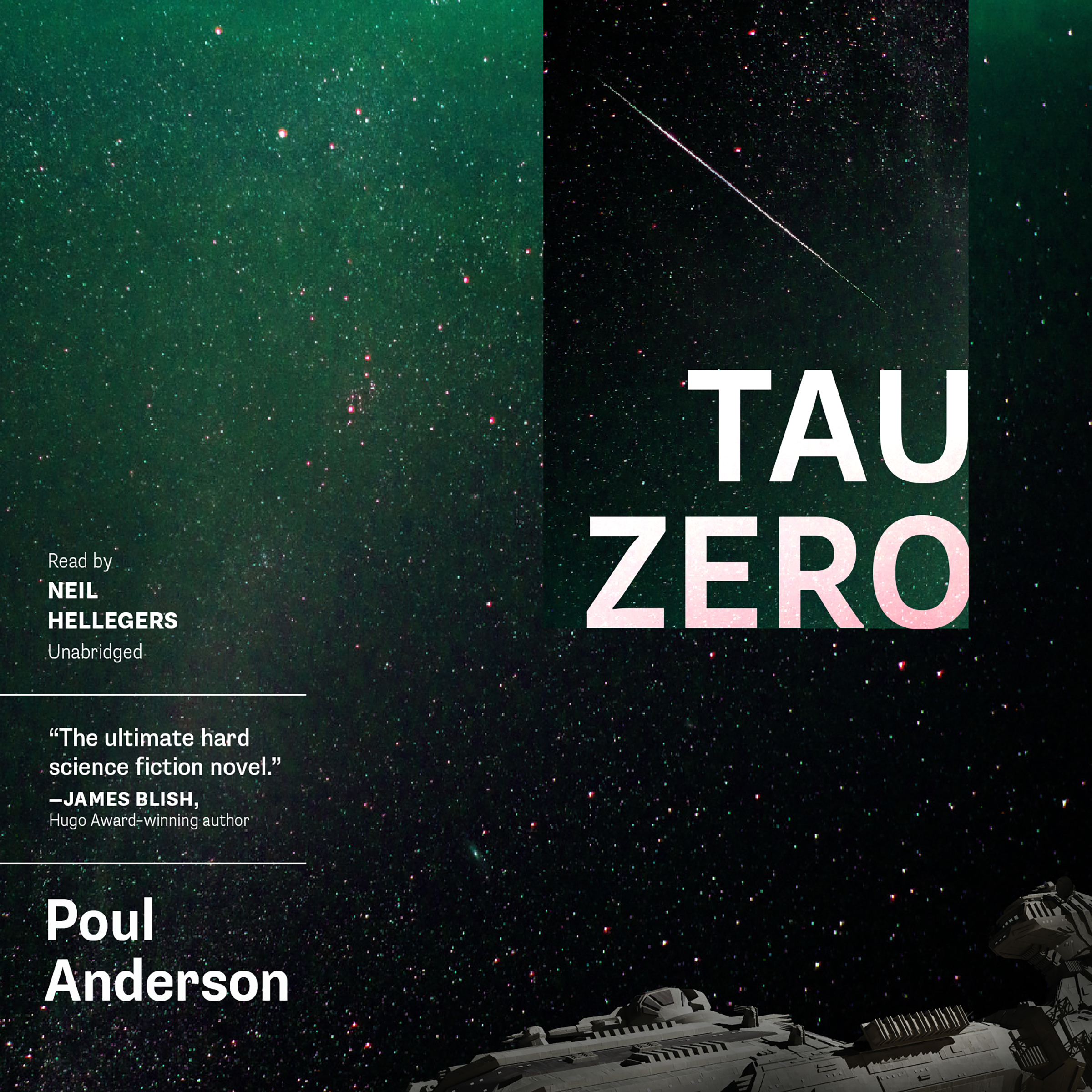 Printable Tau Zero Audiobook Cover Art