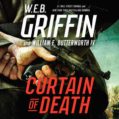 Curtain of Death Audiobook, by W. E. B. Griffin, William E. Butterworth
