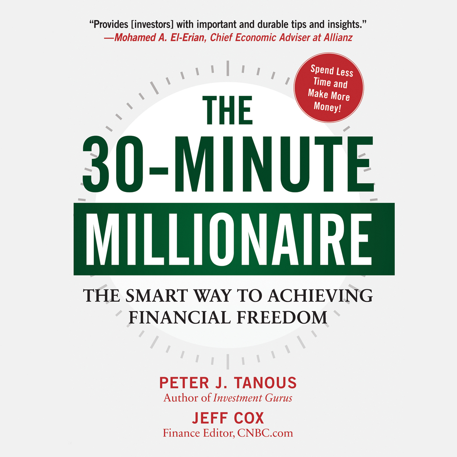 Printable The 30-Minute Millionaire: The Smart Way to Achieving Financial Freedom Audiobook Cover Art