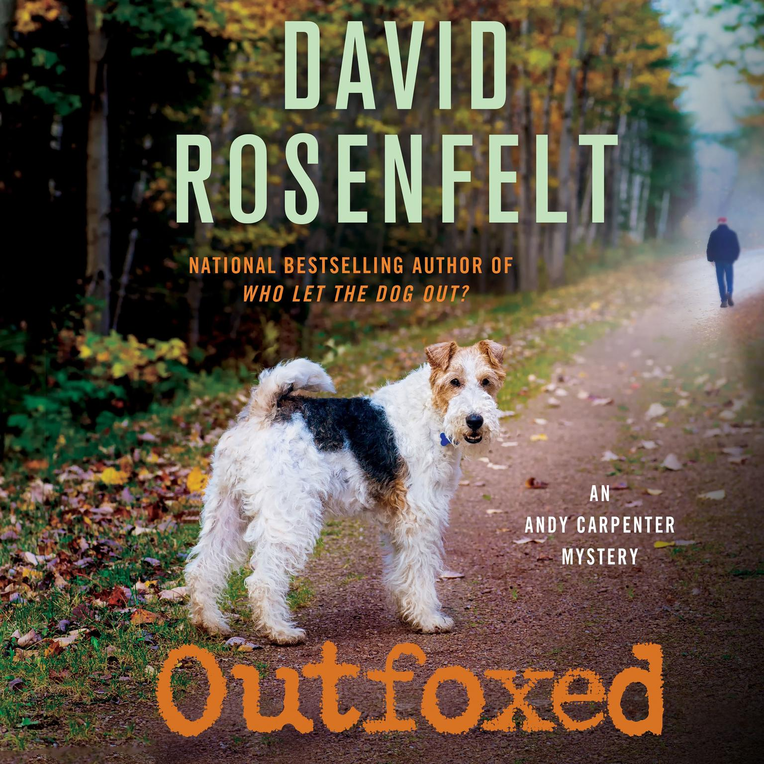 Printable Outfoxed Audiobook Cover Art