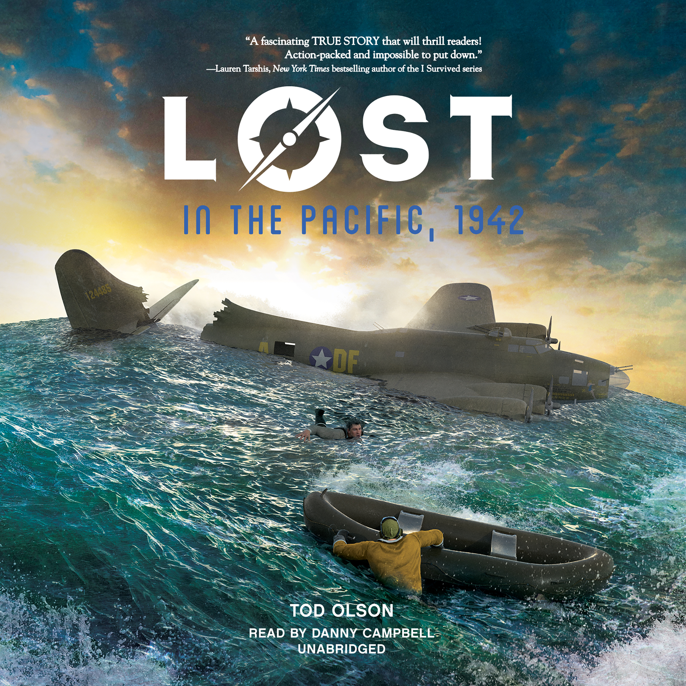 Printable Lost in the Pacific, 1942: Not a Drop to Drink Audiobook Cover Art