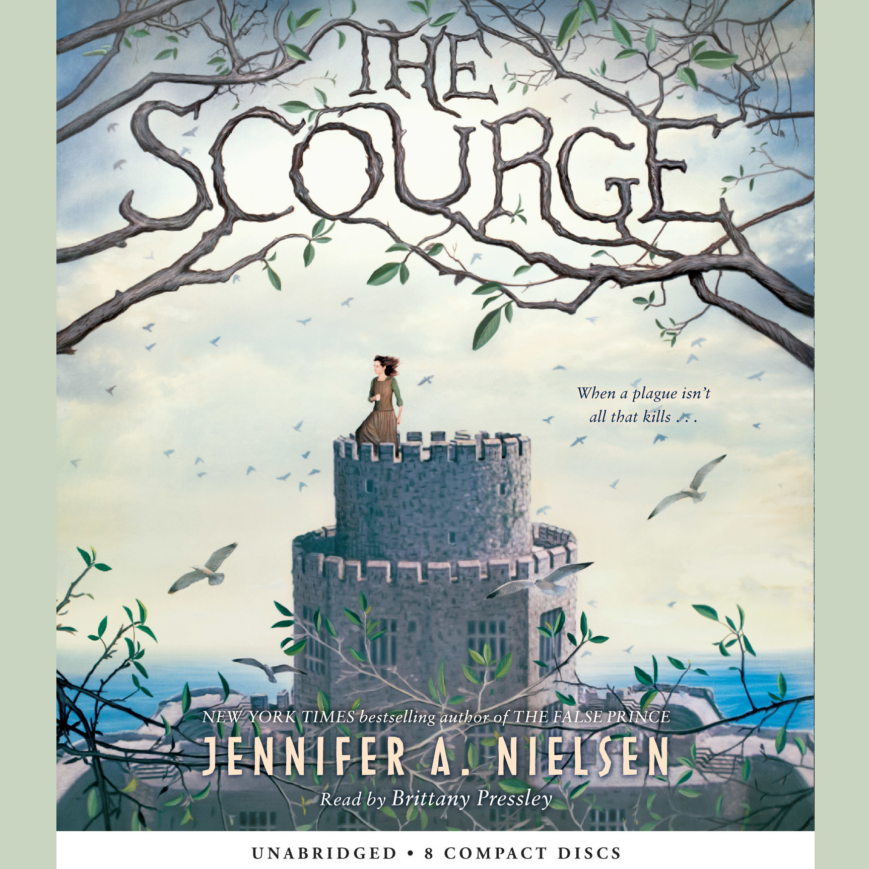 Printable The Scourge Audiobook Cover Art