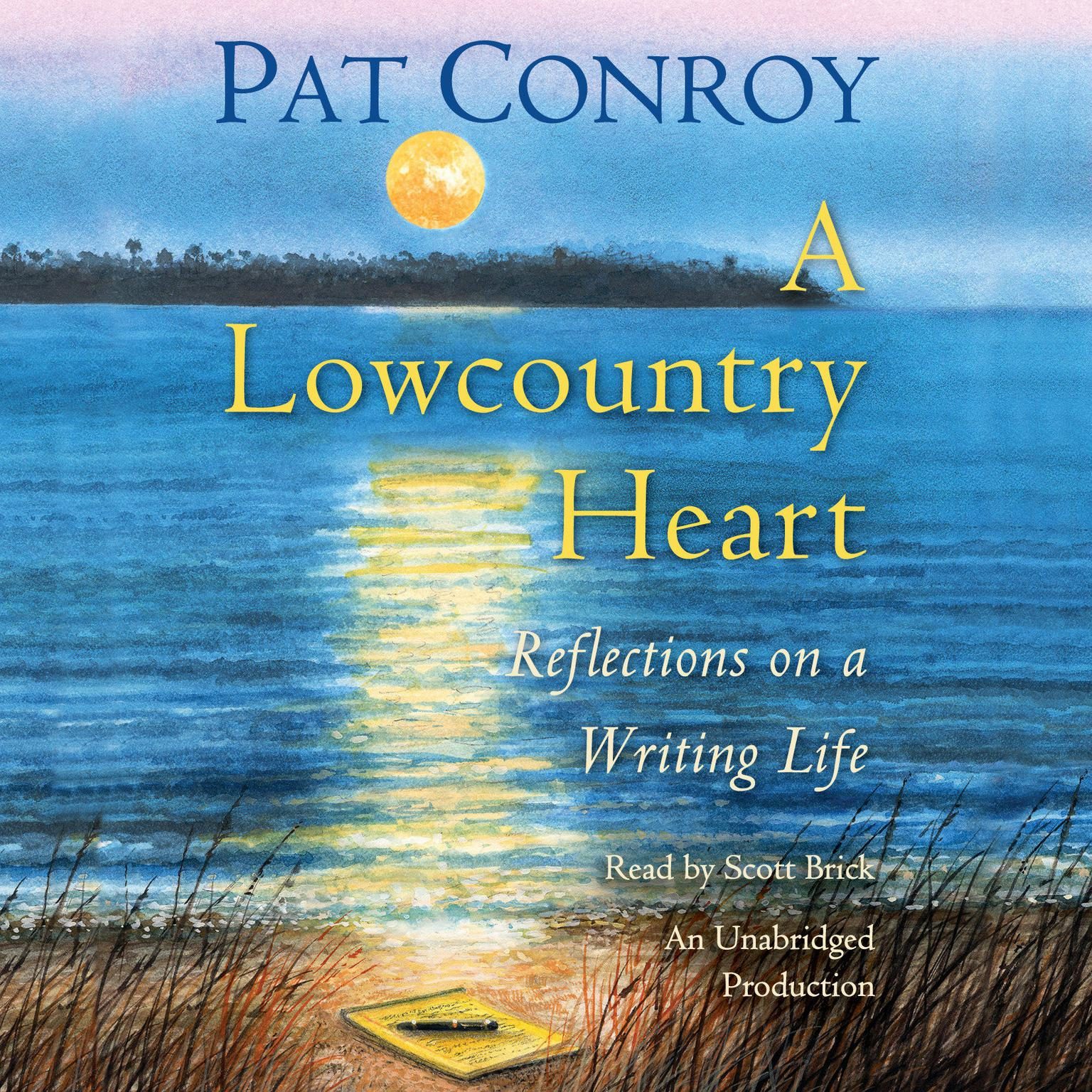 Printable A Lowcountry Heart: Reflections on a Writing Life Audiobook Cover Art
