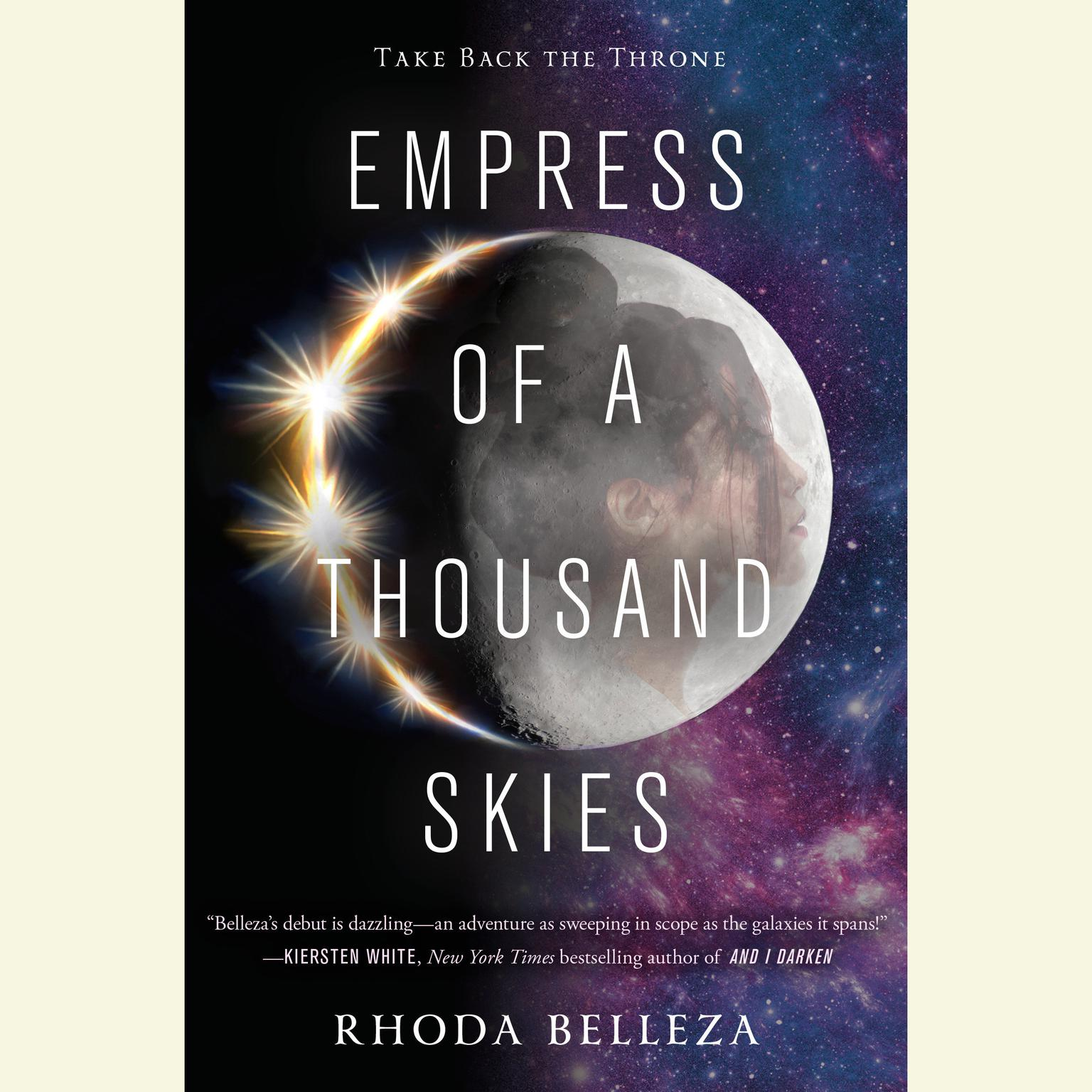 Printable Empress of a Thousand Skies Audiobook Cover Art