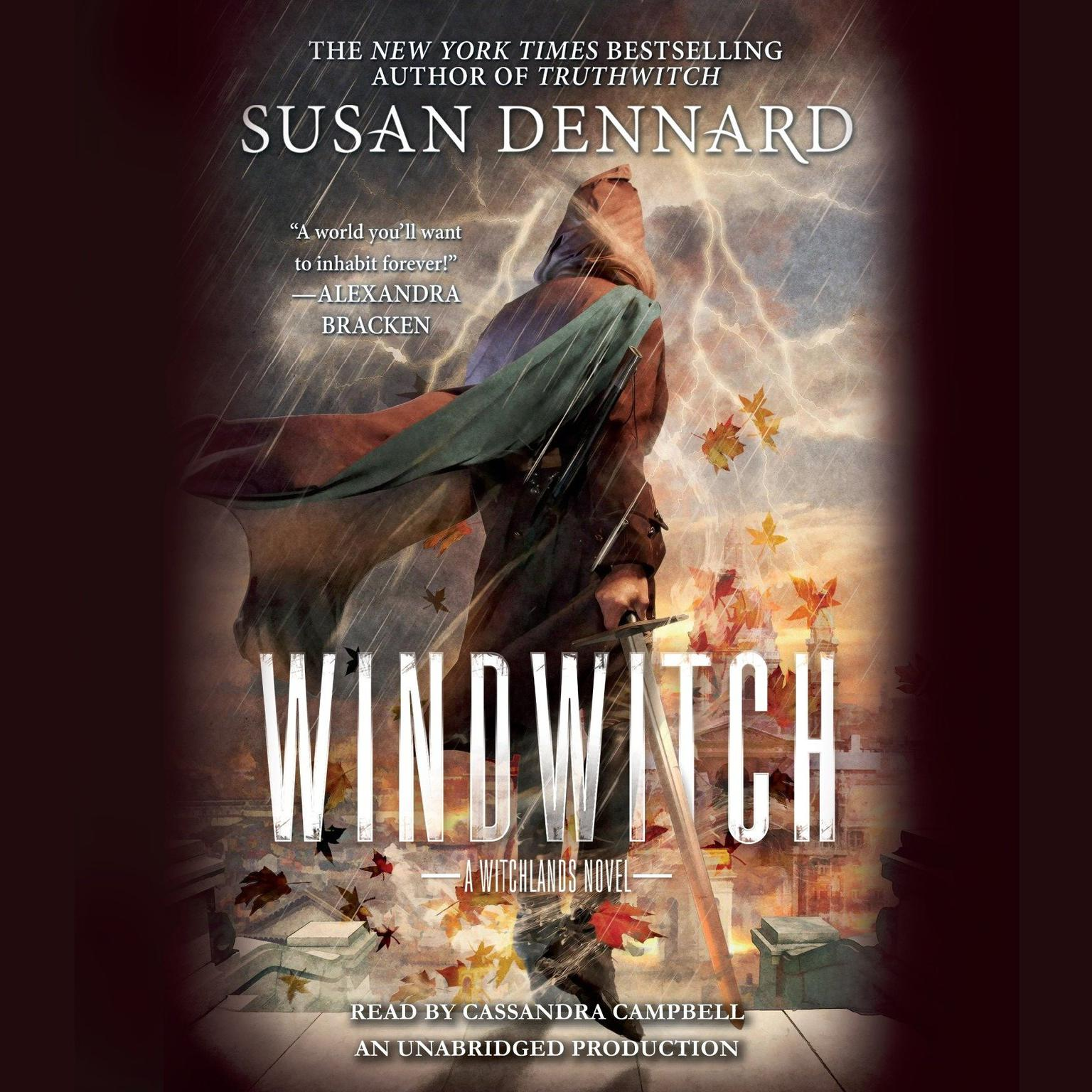 Printable Windwitch: A Witchlands Novel Audiobook Cover Art