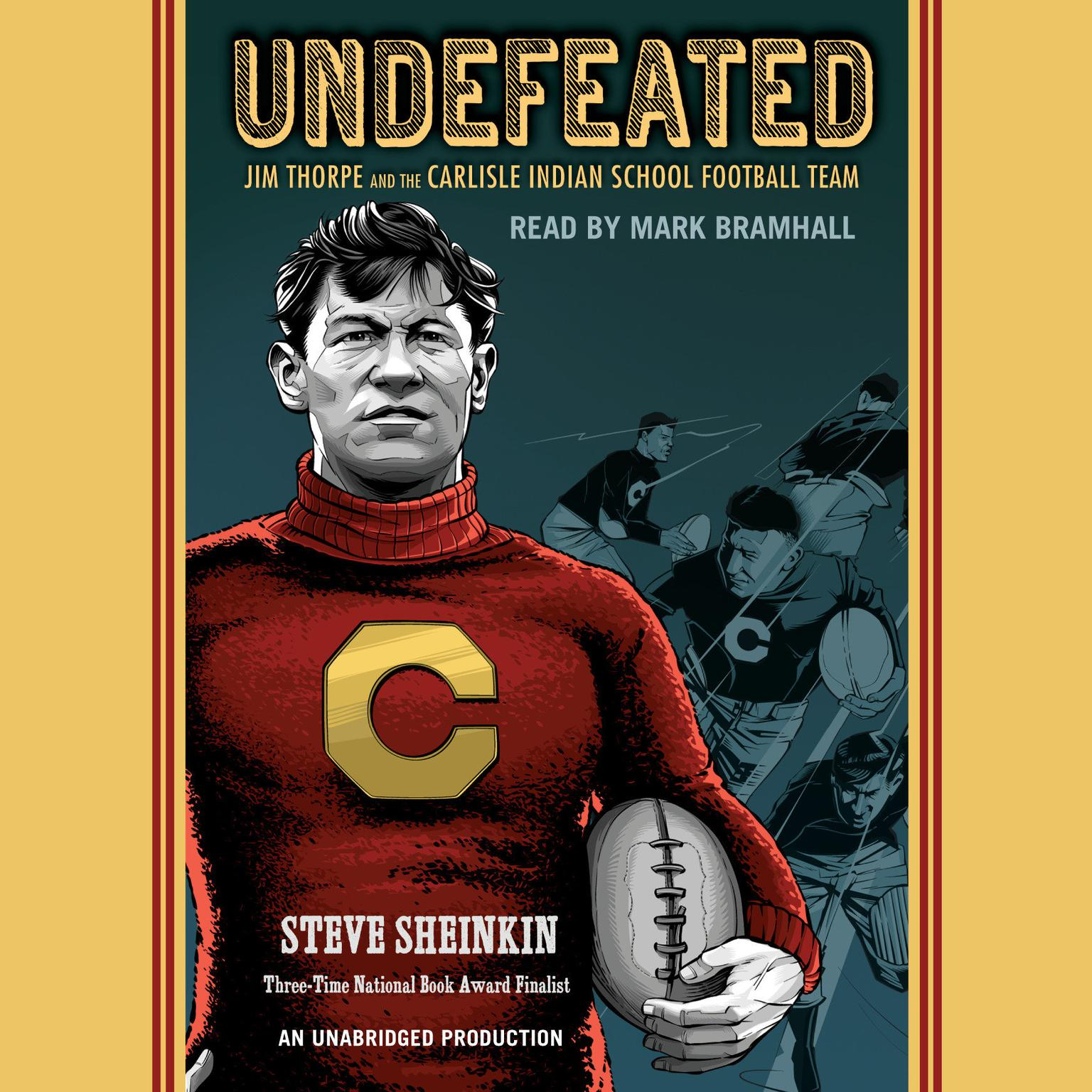 Printable Undefeated: Jim Thorpe and the Carlisle Indian School Football Team Audiobook Cover Art