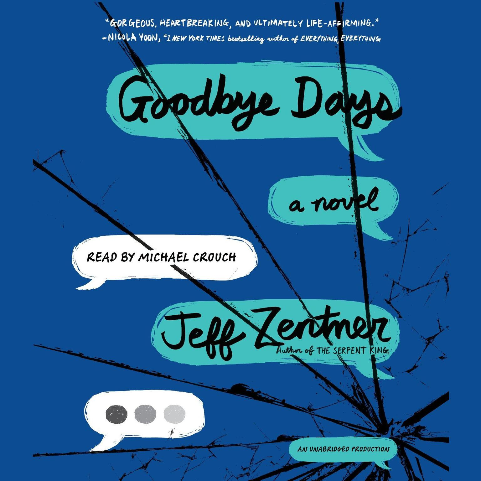 Printable Goodbye Days Audiobook Cover Art