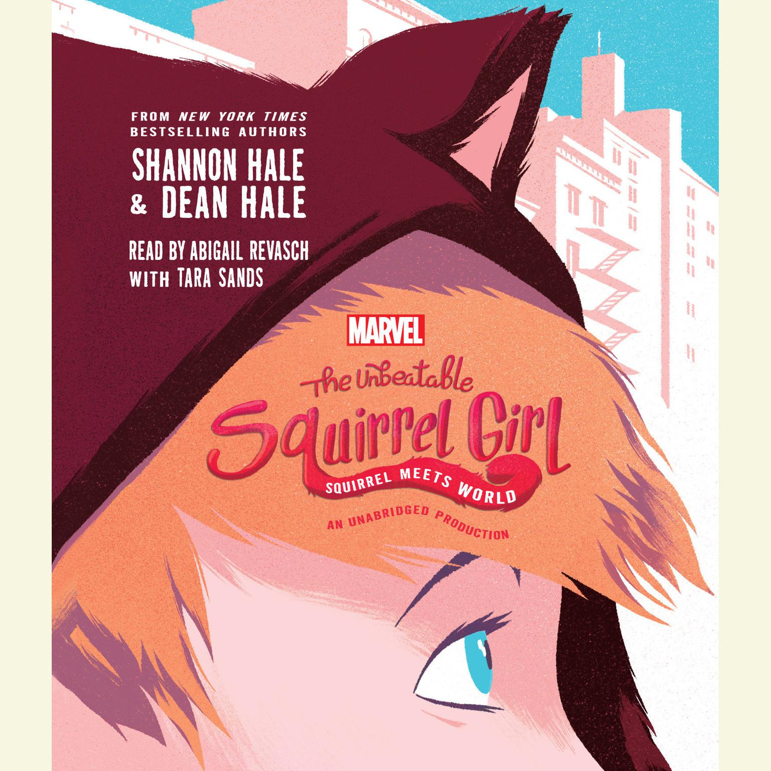 Printable The Unbeatable Squirrel Girl Squirrel Meets World Audiobook Cover Art