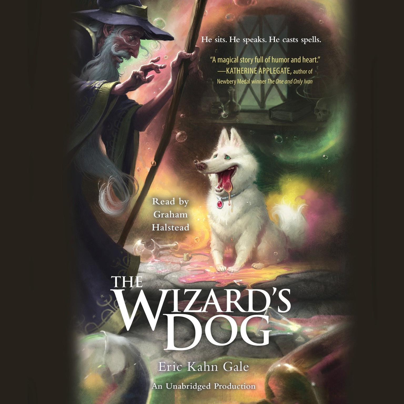 Printable The Wizard's Dog Audiobook Cover Art