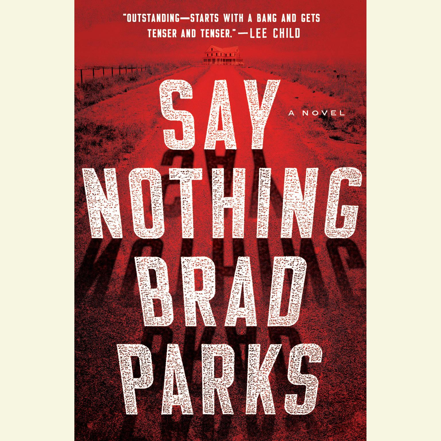 Printable Say Nothing: A Novel Audiobook Cover Art