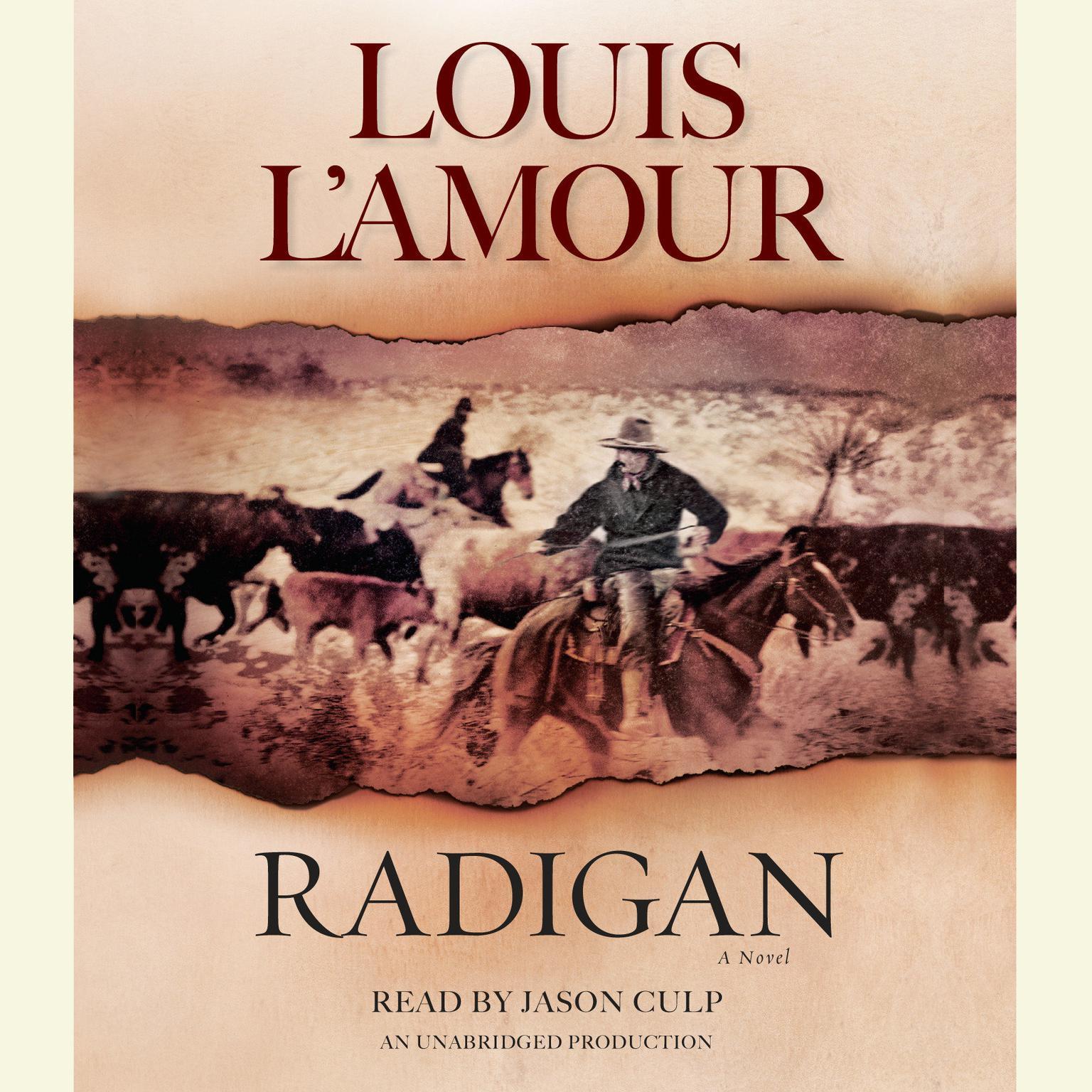 Printable Radigan: A Novel Audiobook Cover Art