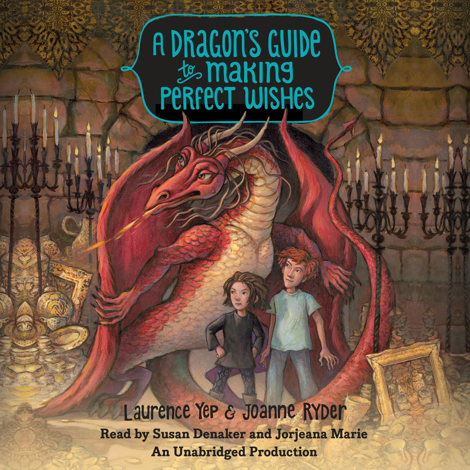 Printable A Dragon's Guide to Making Perfect Wishes Audiobook Cover Art